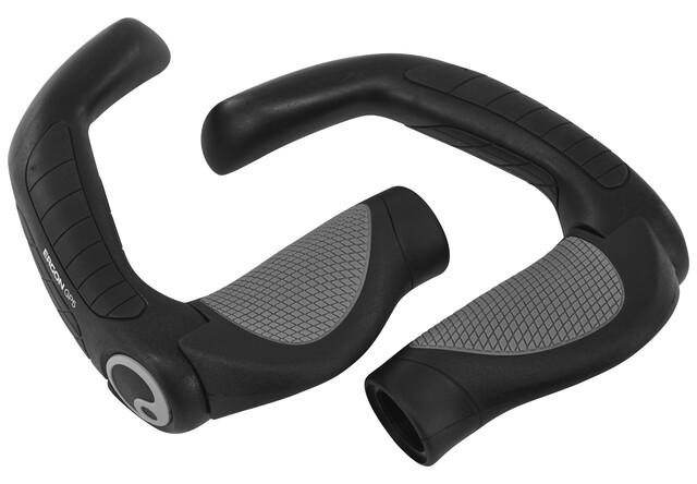 Ergon GP3-S GripShift Handlebar Grips w Bar Ends For Dual Twist Shifters