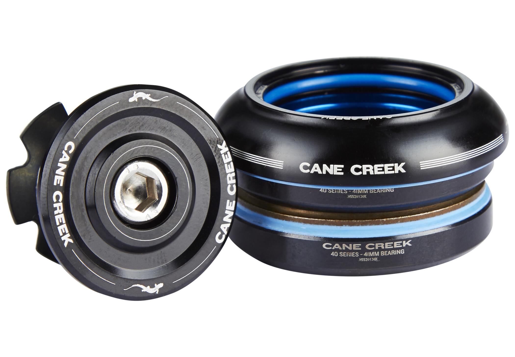 Cane Creek 40 Styrfitting Kort IS41/28.6 I IS41/30, black | Styrfittings
