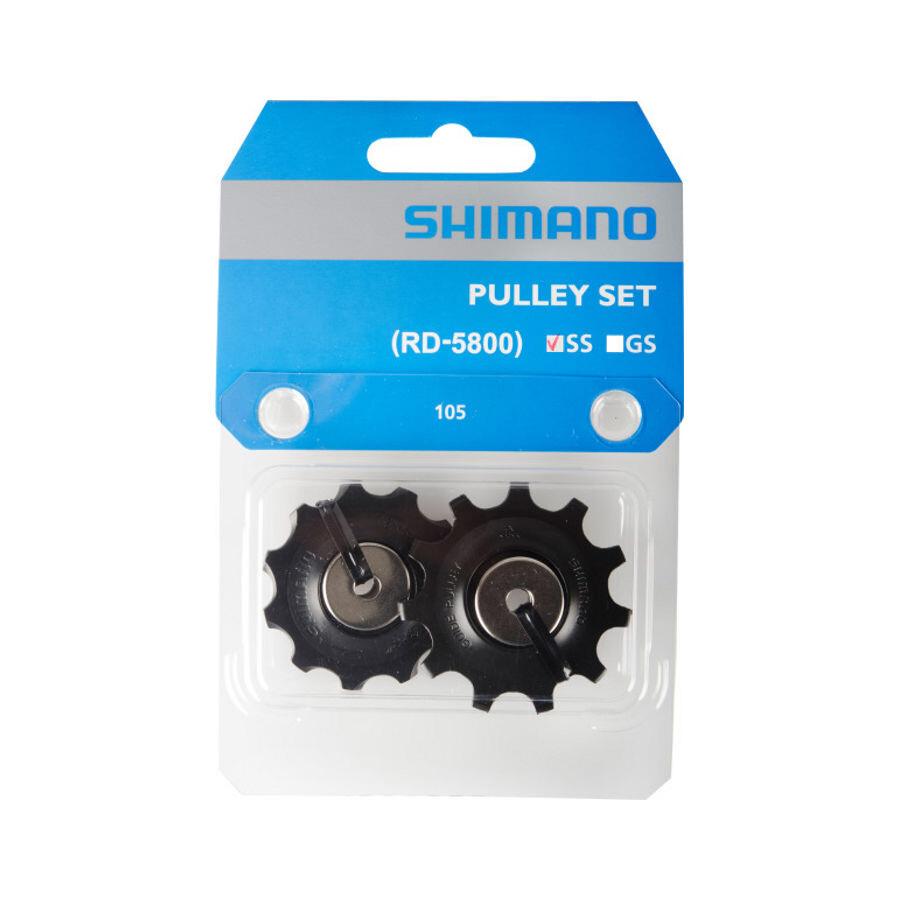 Shimano 105 Jockey Wheel for 11-speed RD-5800-SS, black (2019) | Pulley wheels