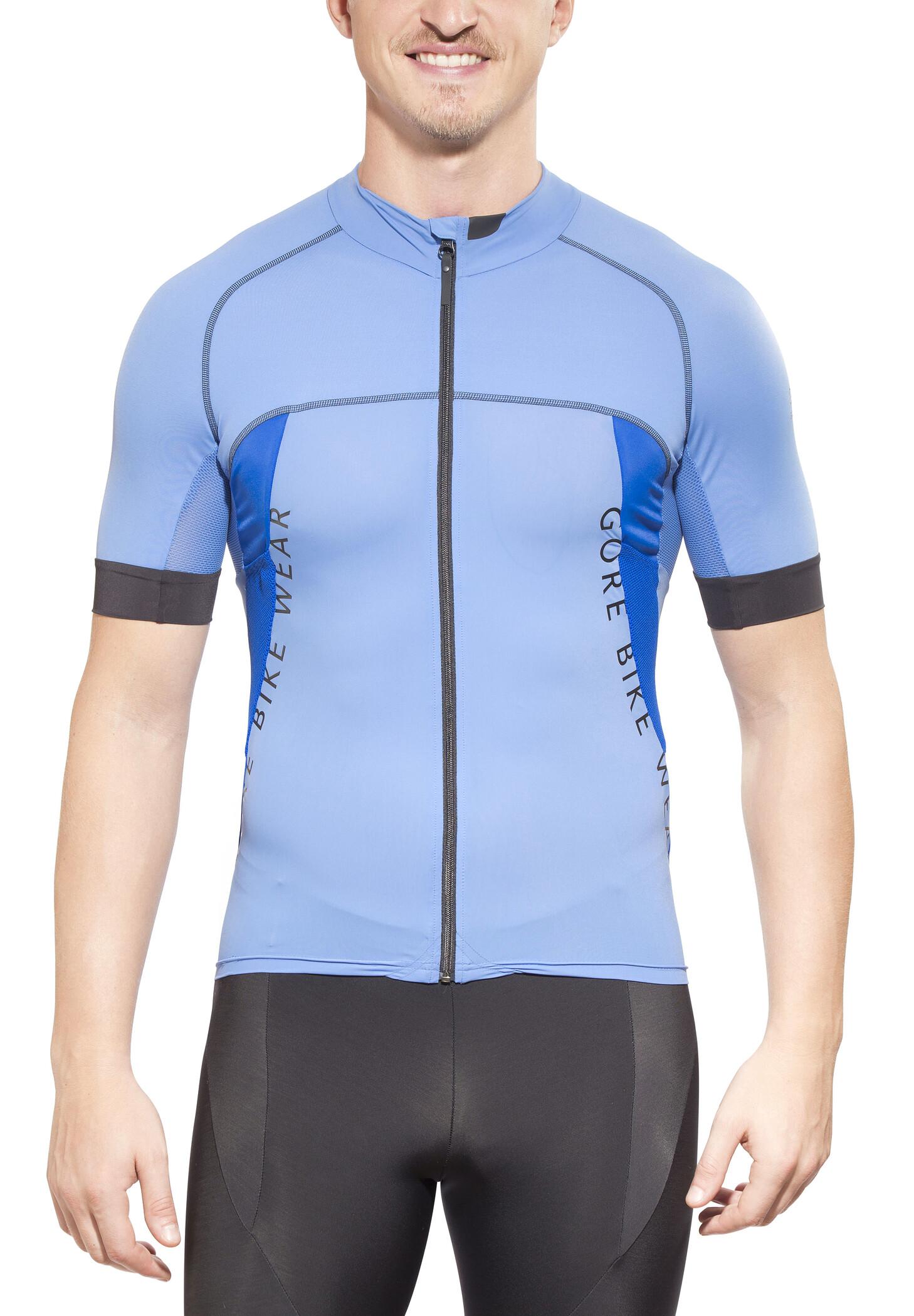 GORE BIKE WEAR ALP-X PRO Cykeltrøje Herrer, blizzard blue/brilliant blue | Jerseys