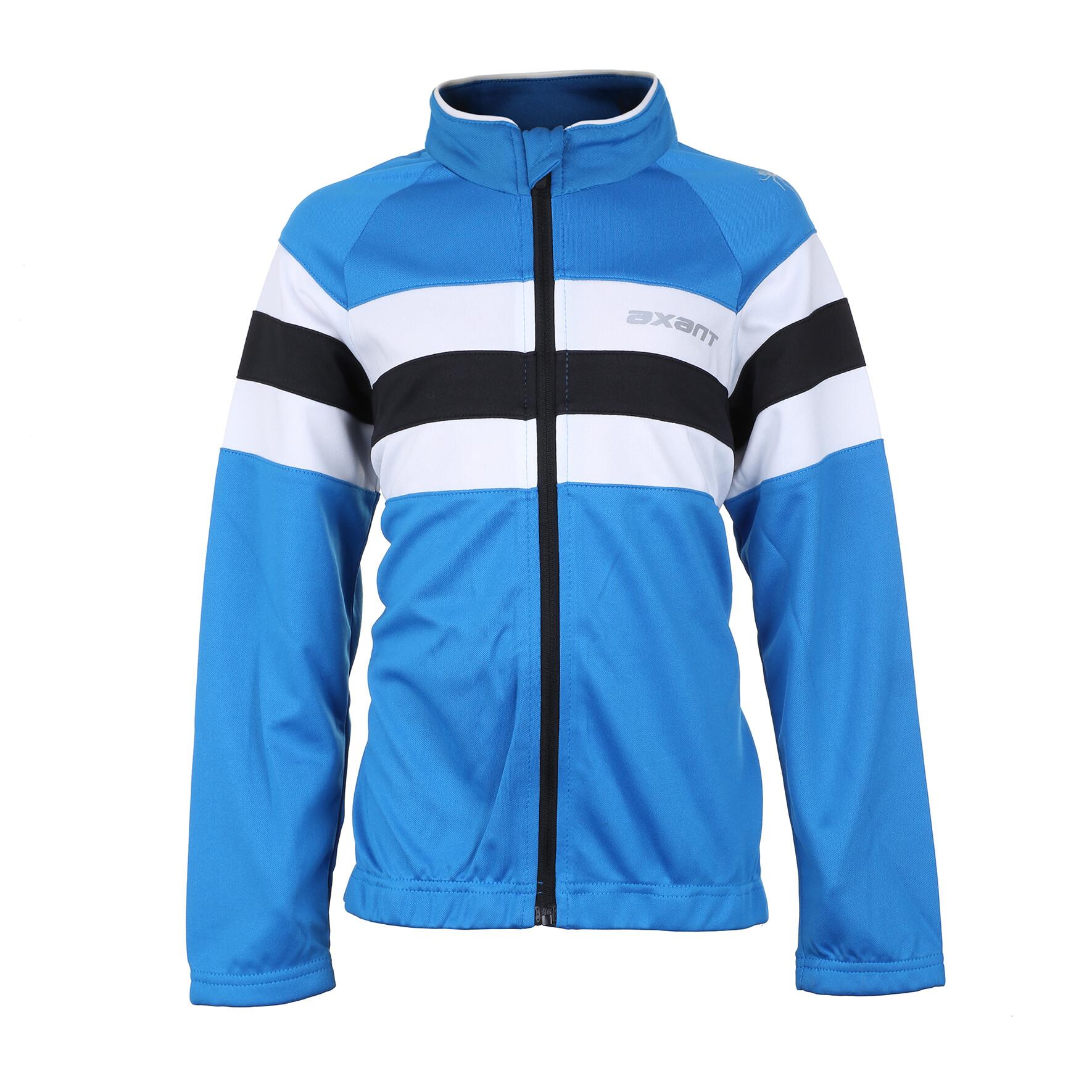 axant Expert Thermo Langærmet cykeltrøje Børn, blue (2019) | Jerseys