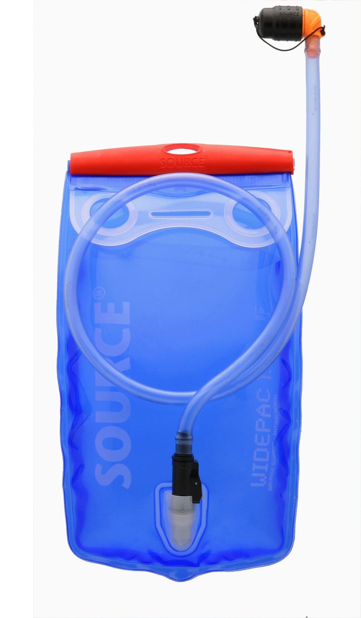 SOURCE Widepac Hydration Bladder 1.5 L, transparent/blue (2019) | item_misc