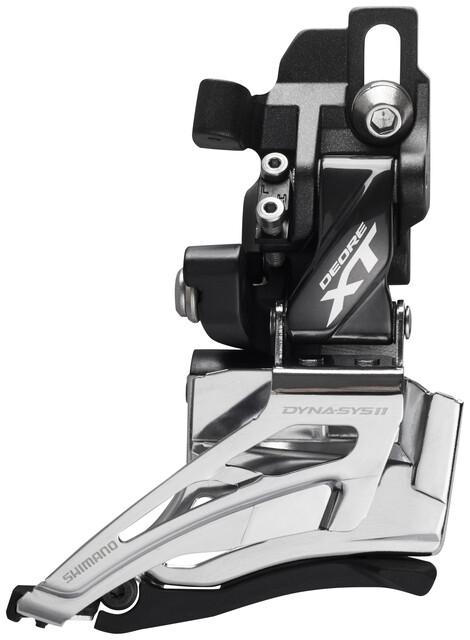 SHIMANO Deore XT FD-M8025 2x11 Down Swing Umwerfer 34-38 Z/ähne Silber
