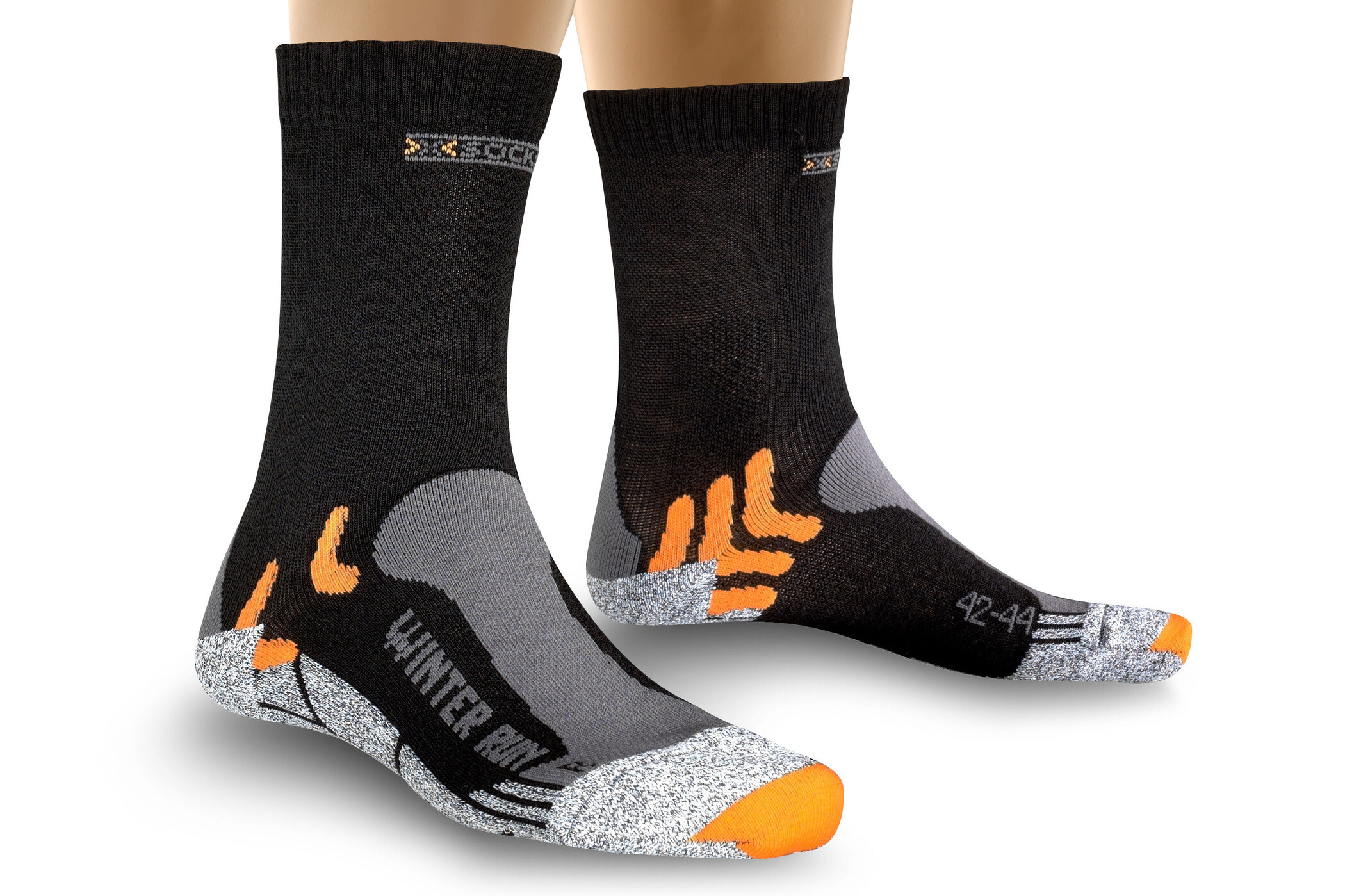 X-Socks Winter Løbesokker, black   item_misc