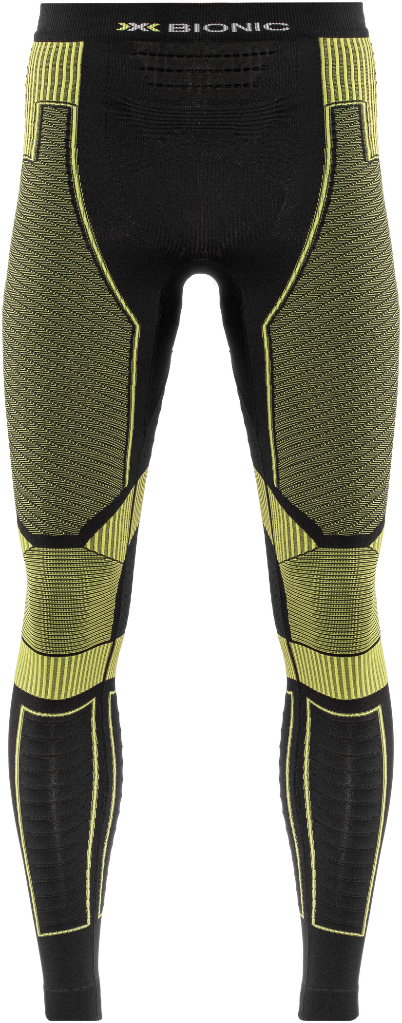 X-Bionic Effektor Power OW Løbebukser Herrer, black/yellow | Trousers