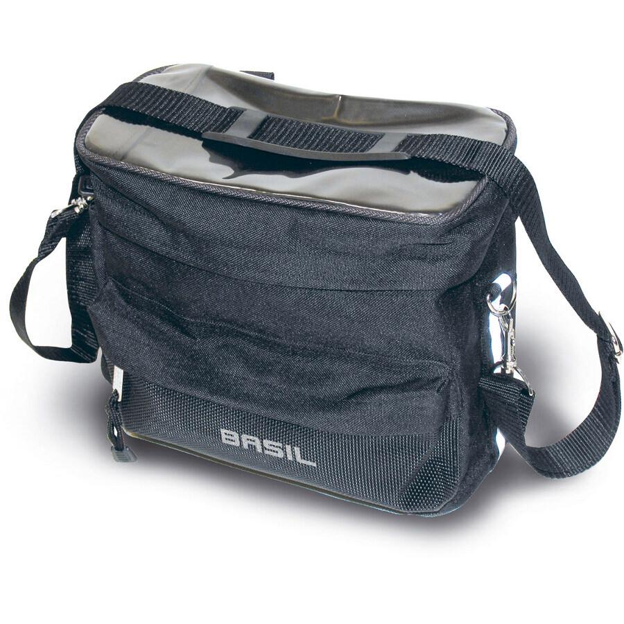 Basil Mali Cykeltaske 8 L, black (2020) | Rack bags