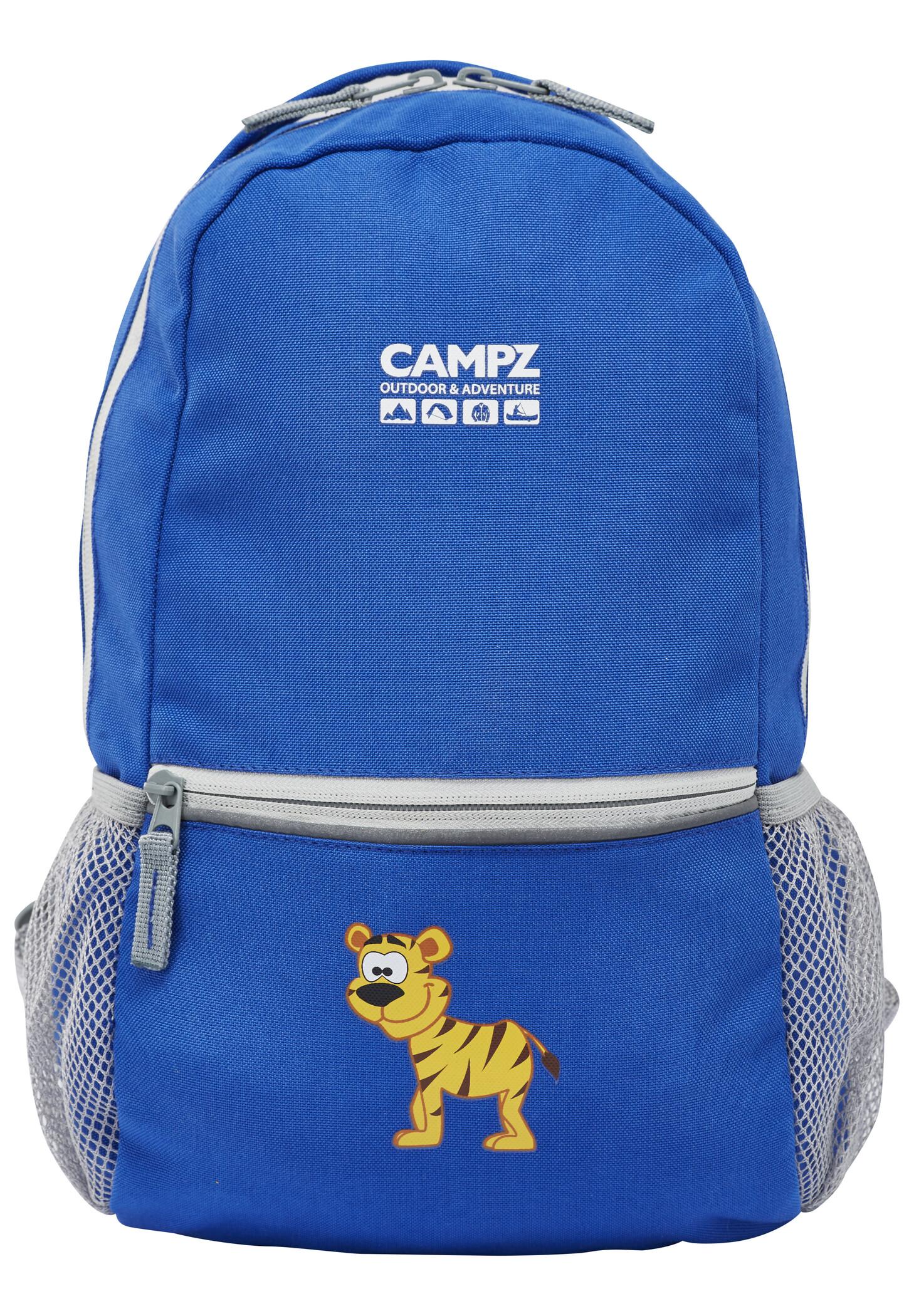 CAMPZ Tiger 10L Rygsæk Børn, blue | Rygsæk og rejsetasker
