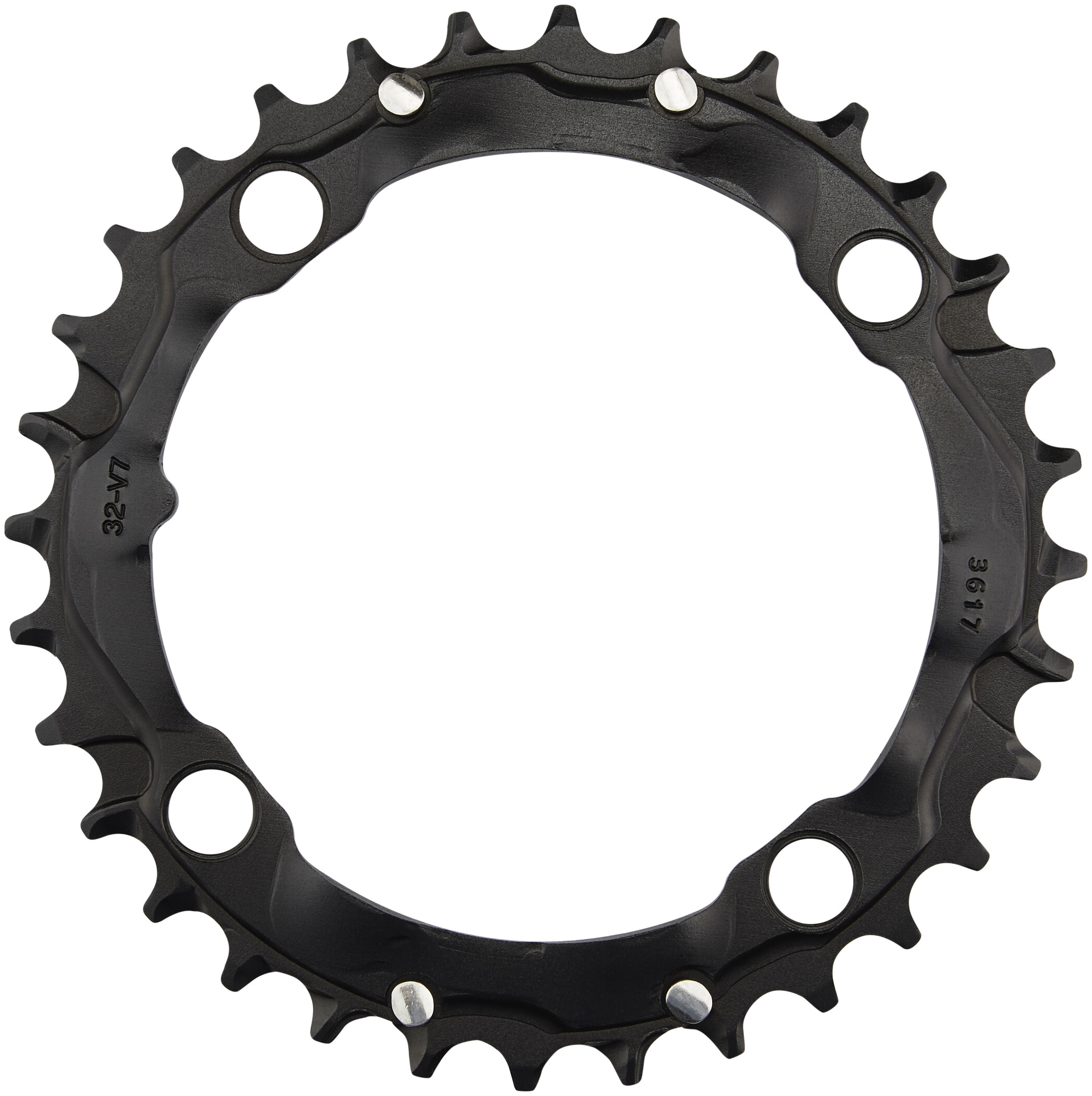 Truvativ MTB Klinge 104 mm aluminium, black (2019) | chainrings_component