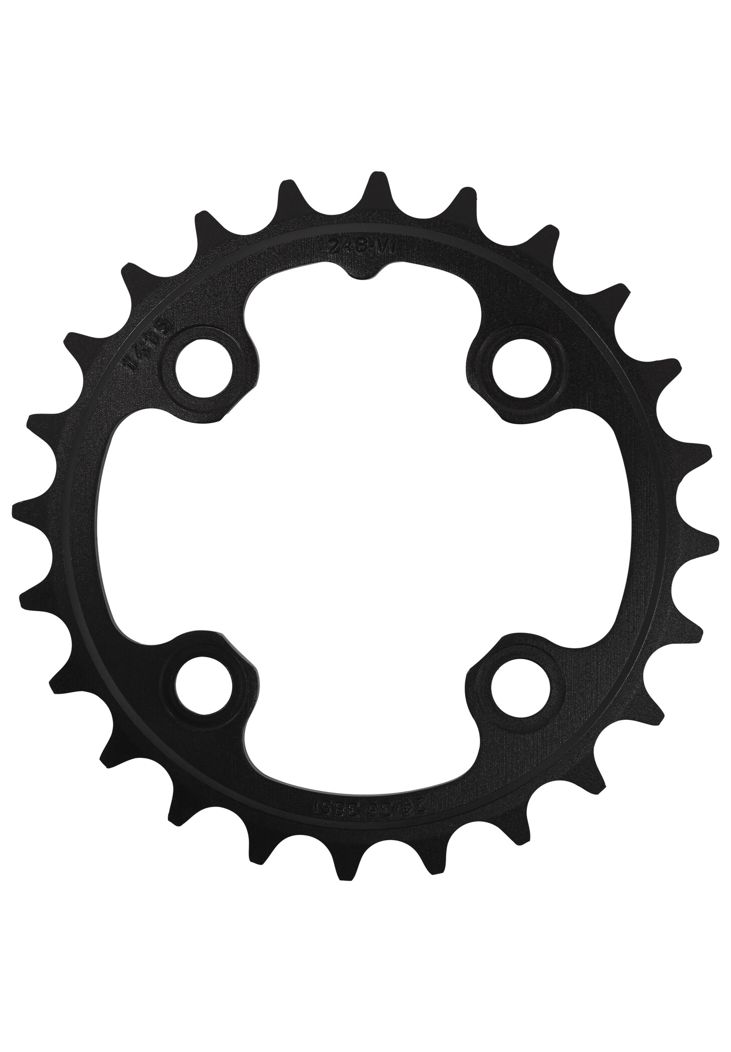 Truvativ MTB Klinge 64 mm alumiium 9/10-speed, matte black (2019) | chainrings_component