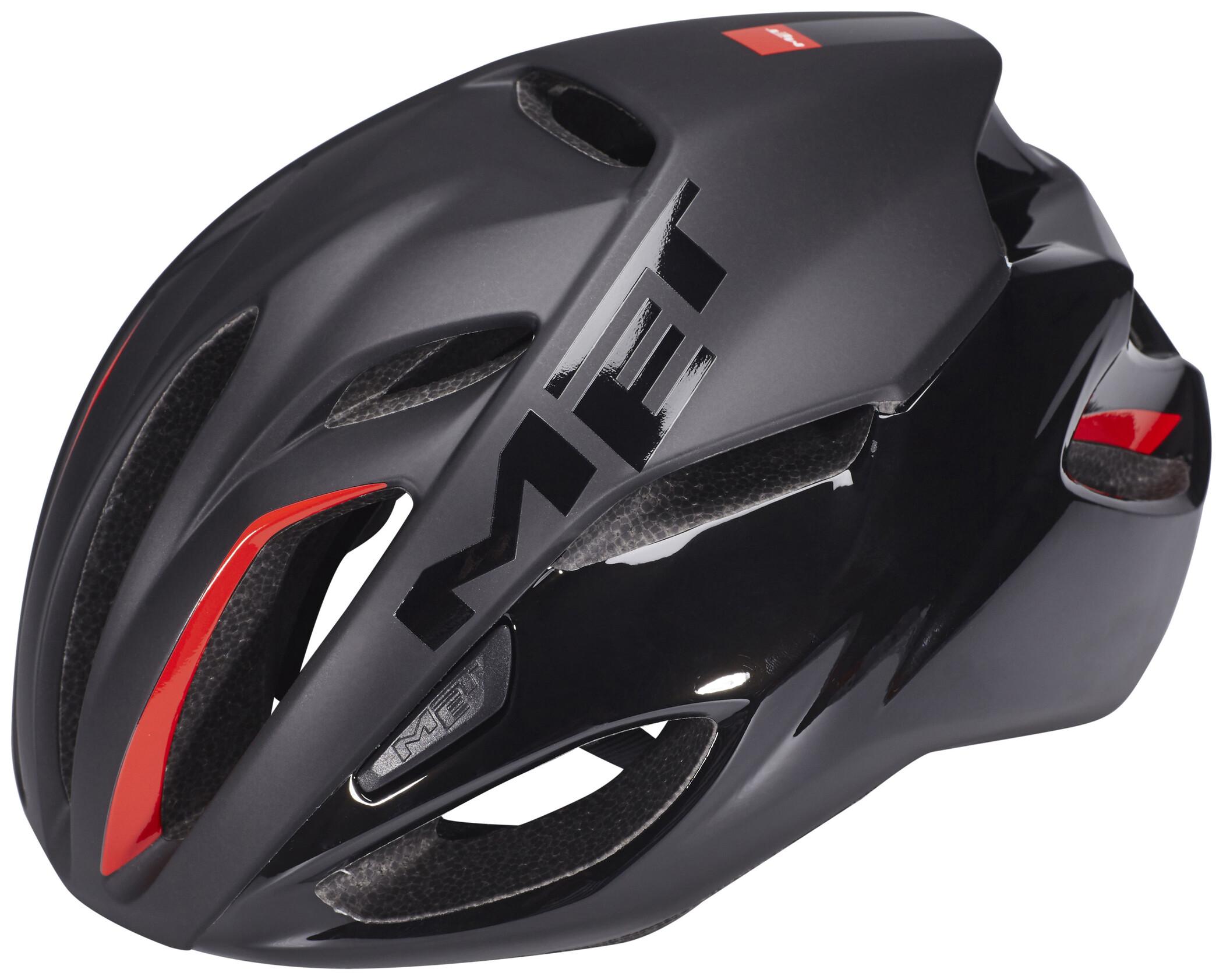 MET Rivale Cykelhjelm, matt black (2019) | Helmets