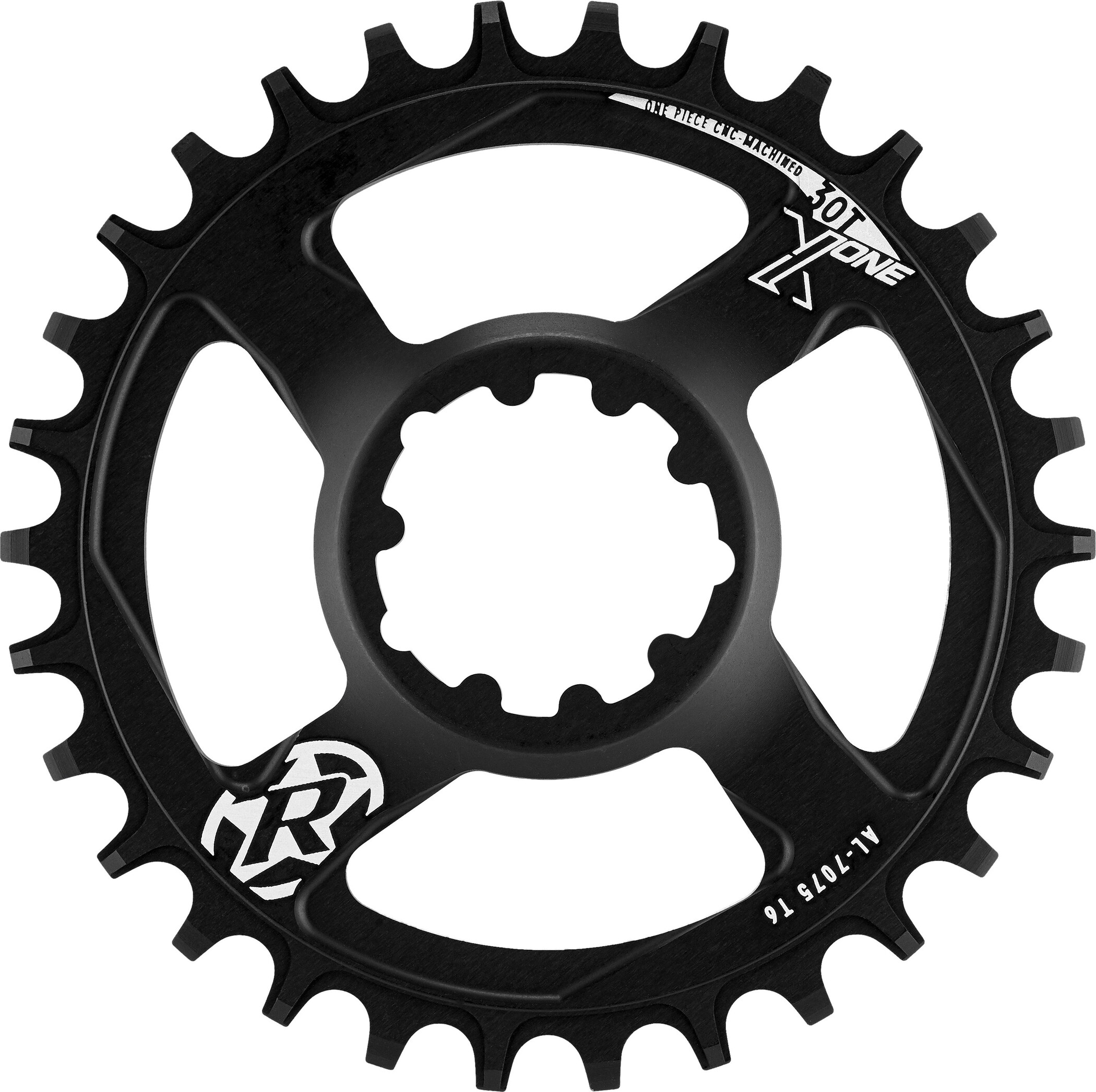 Reverse CW X-ONE Chainring Narrow Wide Re-Sync, black | chainrings_component