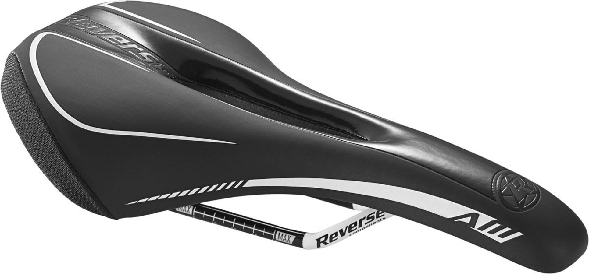 Reverse AM Ergo Sadel, black/yellow (2020) | Saddles