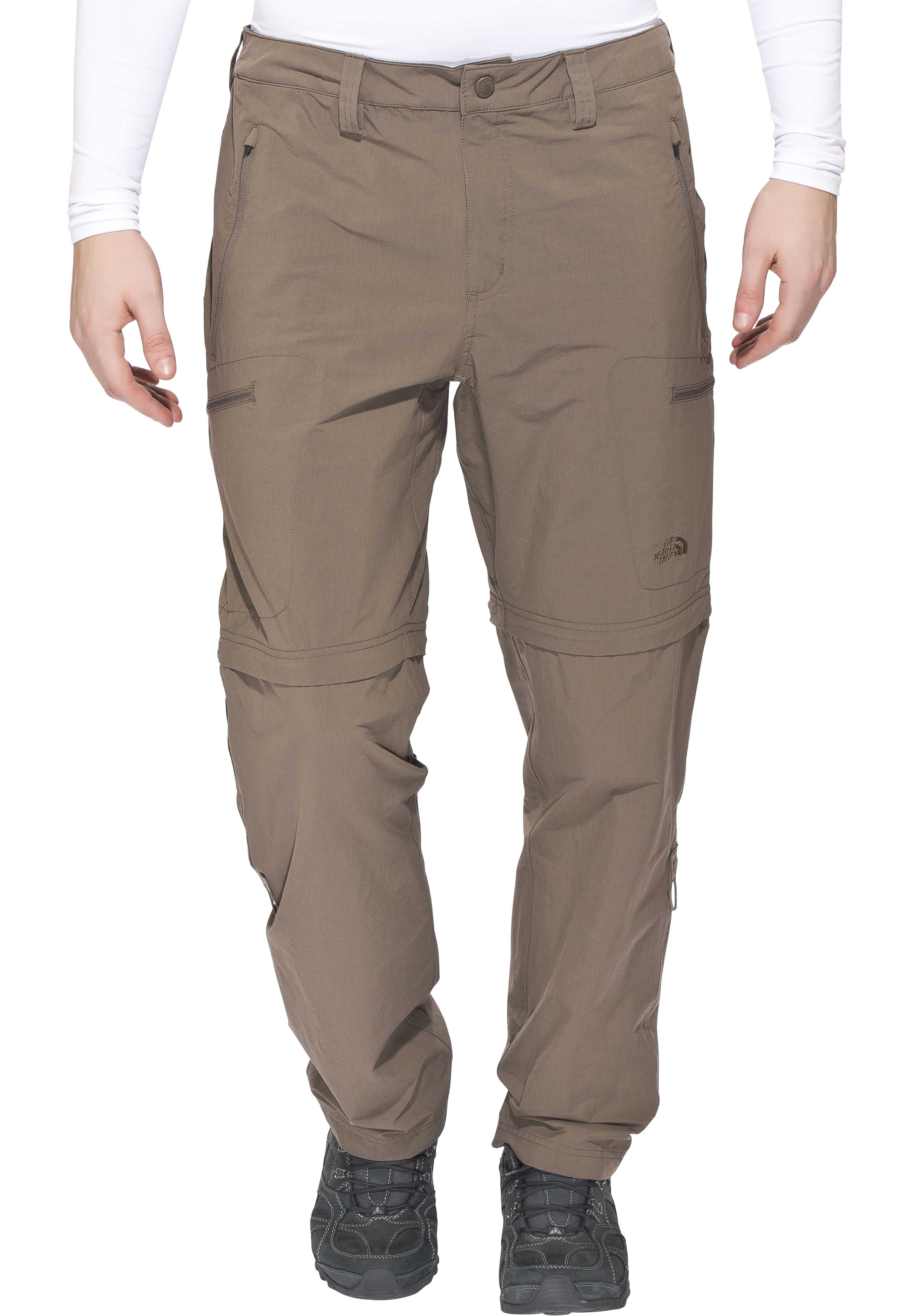 The North Face Exploration Pantalones Convertibles Largo Hombre Weimaraner Brown Campz Es