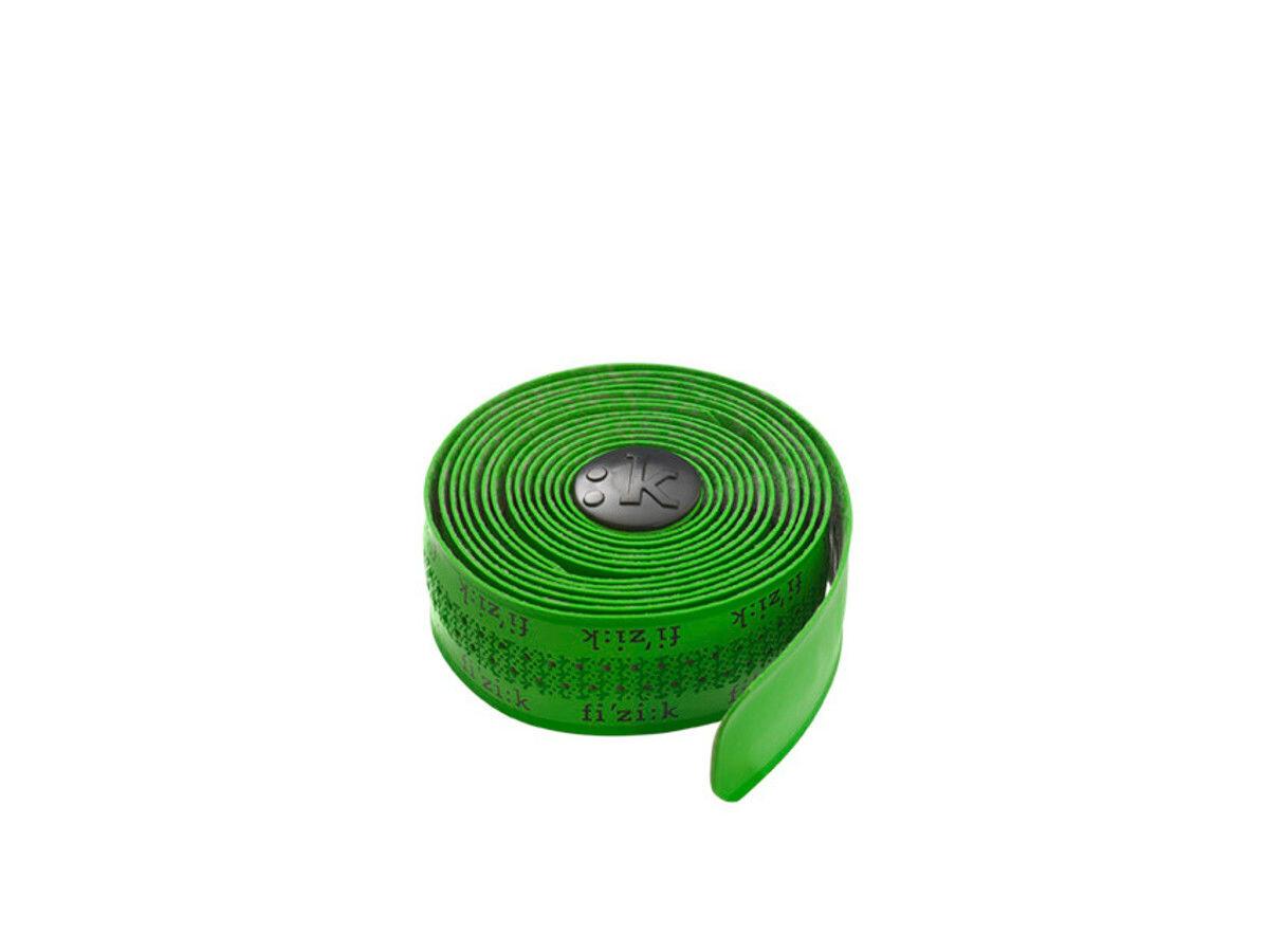 Fizik Superlight Tacky Styrbånd Fizik-logo, green (2019) | Bar tape