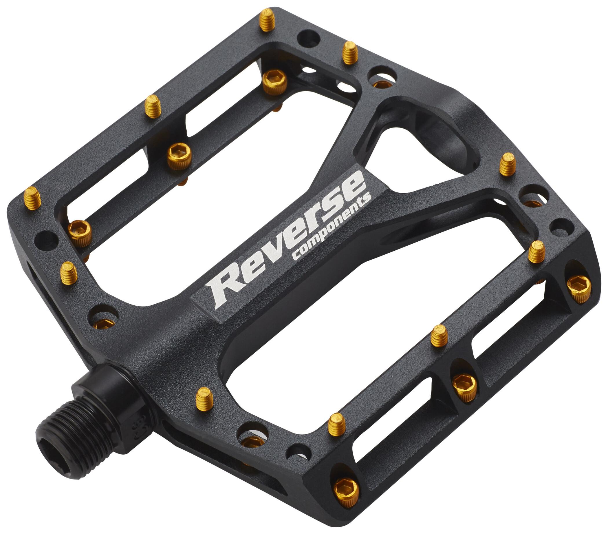 Reverse REVERSE ONE TITANIUM pedals black | Pedals