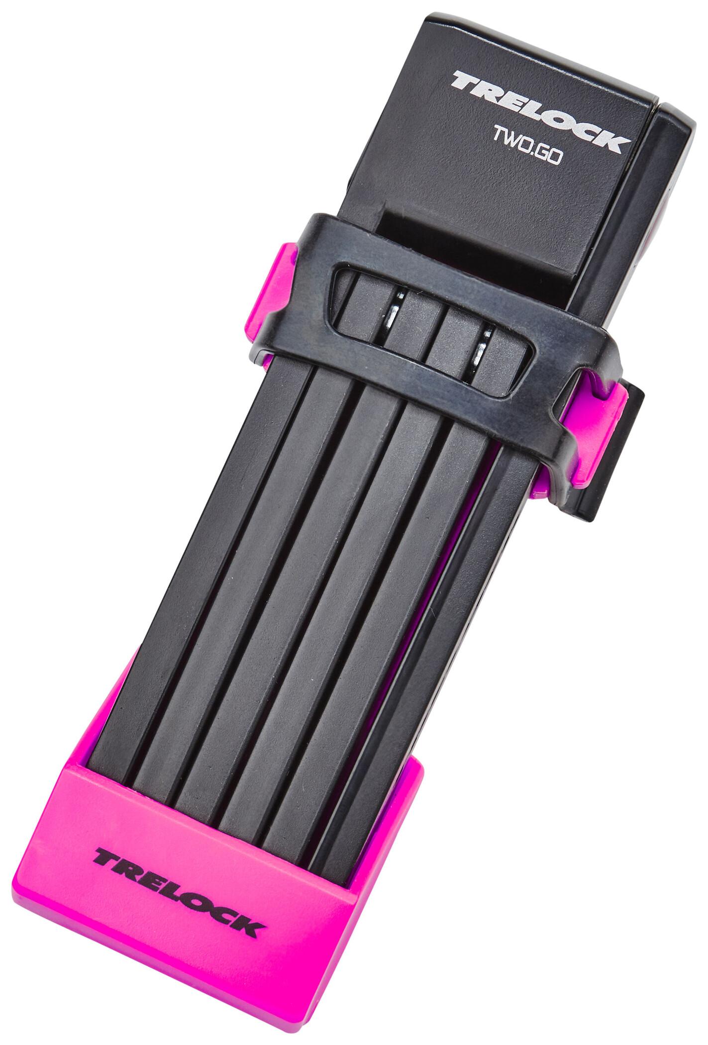 Trelock FS 200/75 TWO.GO Folding Lock 75 cm, white (2019) | Combo Lock