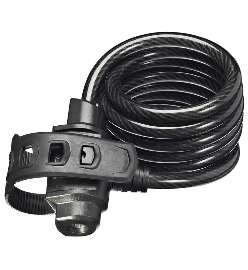 Trelock KS 322 FIXXGO Cykellås 75 cm, black (2019) | Combo Lock