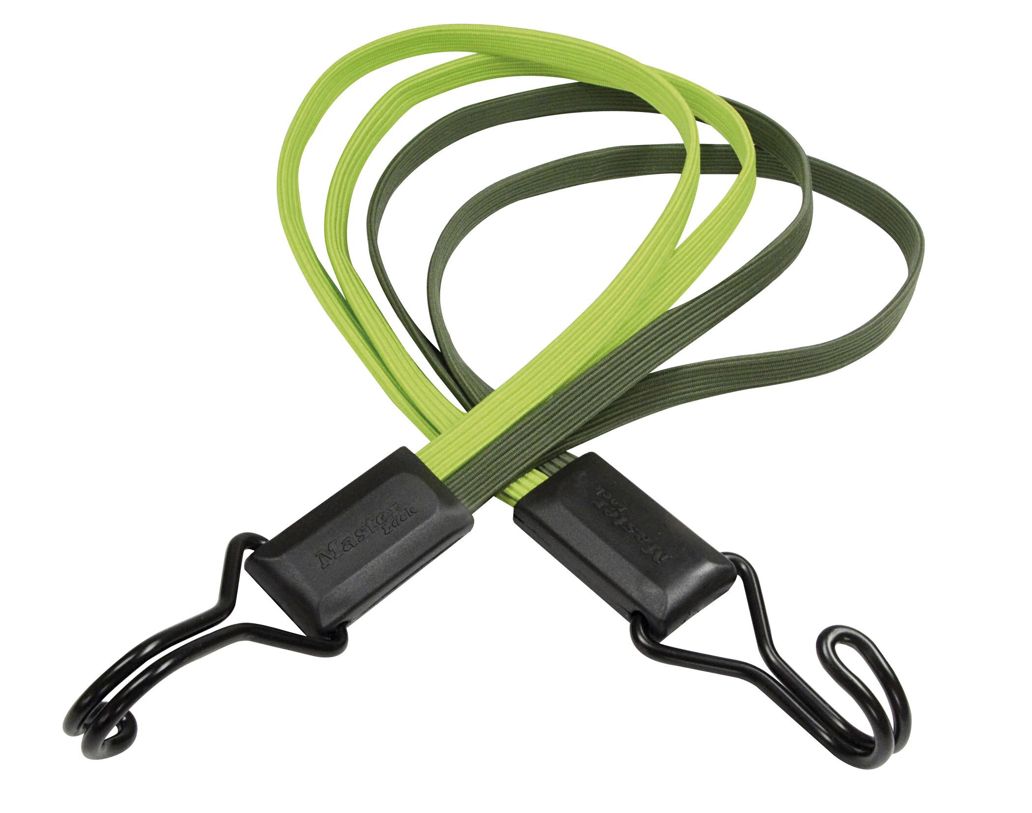 Masterlock Smooth Elastikker 4-speed, green/brown (2019)   item_misc