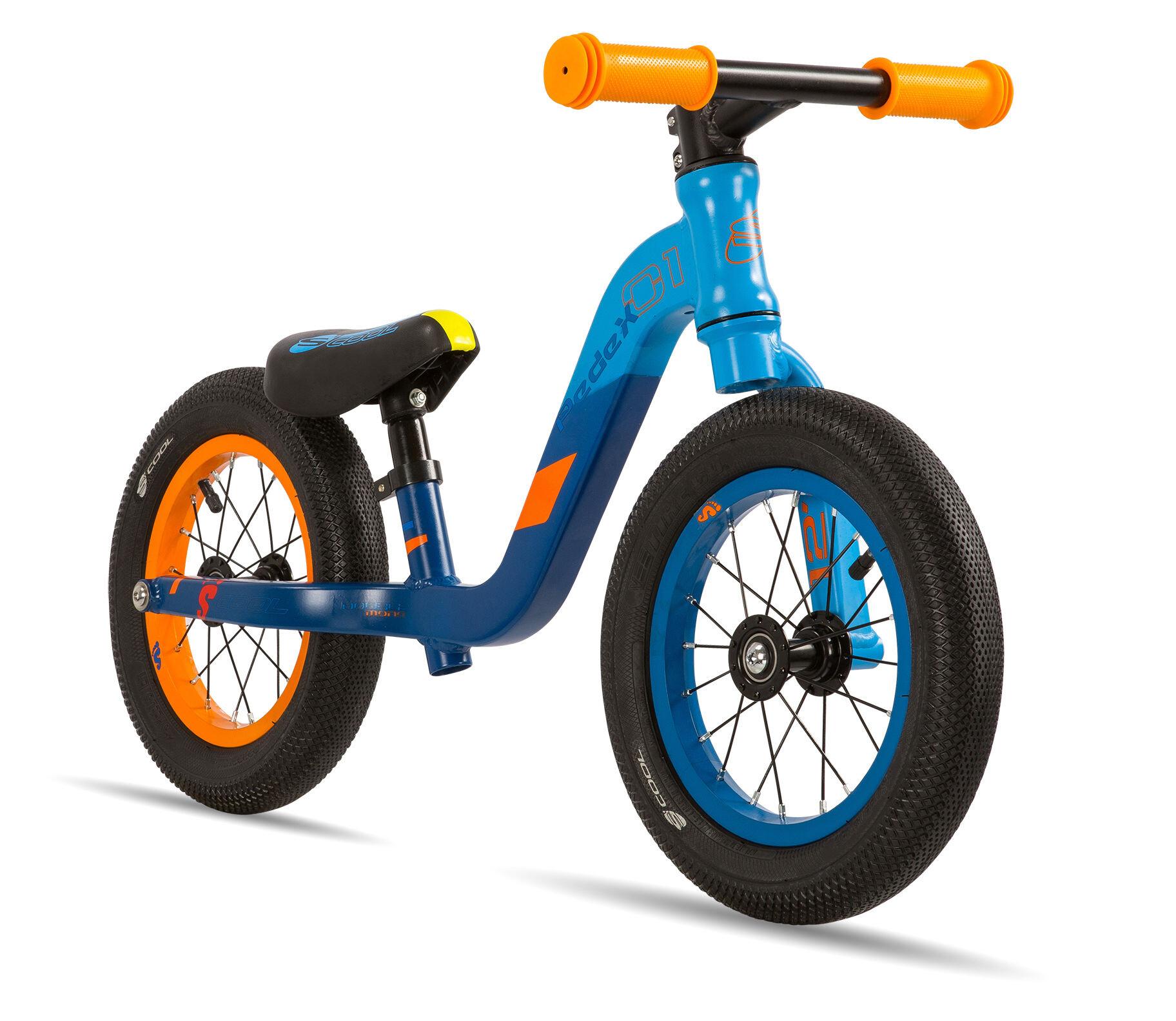 s'cool pedeX 1 Børn, blue/orange matt (2020) | Learner Bikes