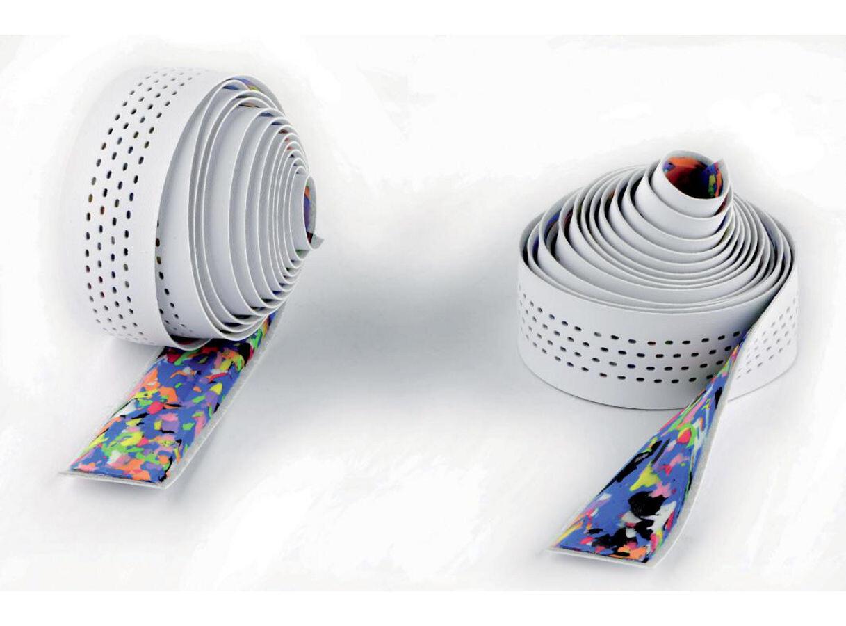 Cinelli Caleido Ribbon Styrbånd, white (2019)   Bar tape