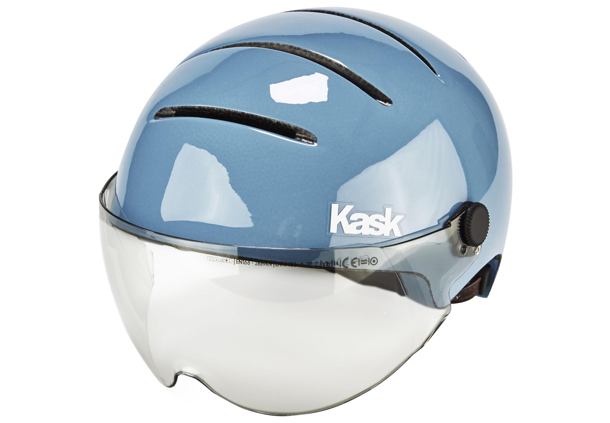 Kask Lifestyle Cykelhjelm inkl. visir, zucchero petrol (2019) | Hjelme
