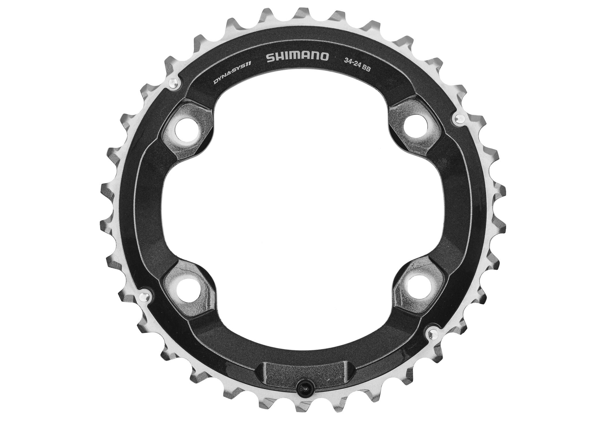 Shimano Deore XT FC-M8000 Klinge 2-trins (2019) | chainrings_component