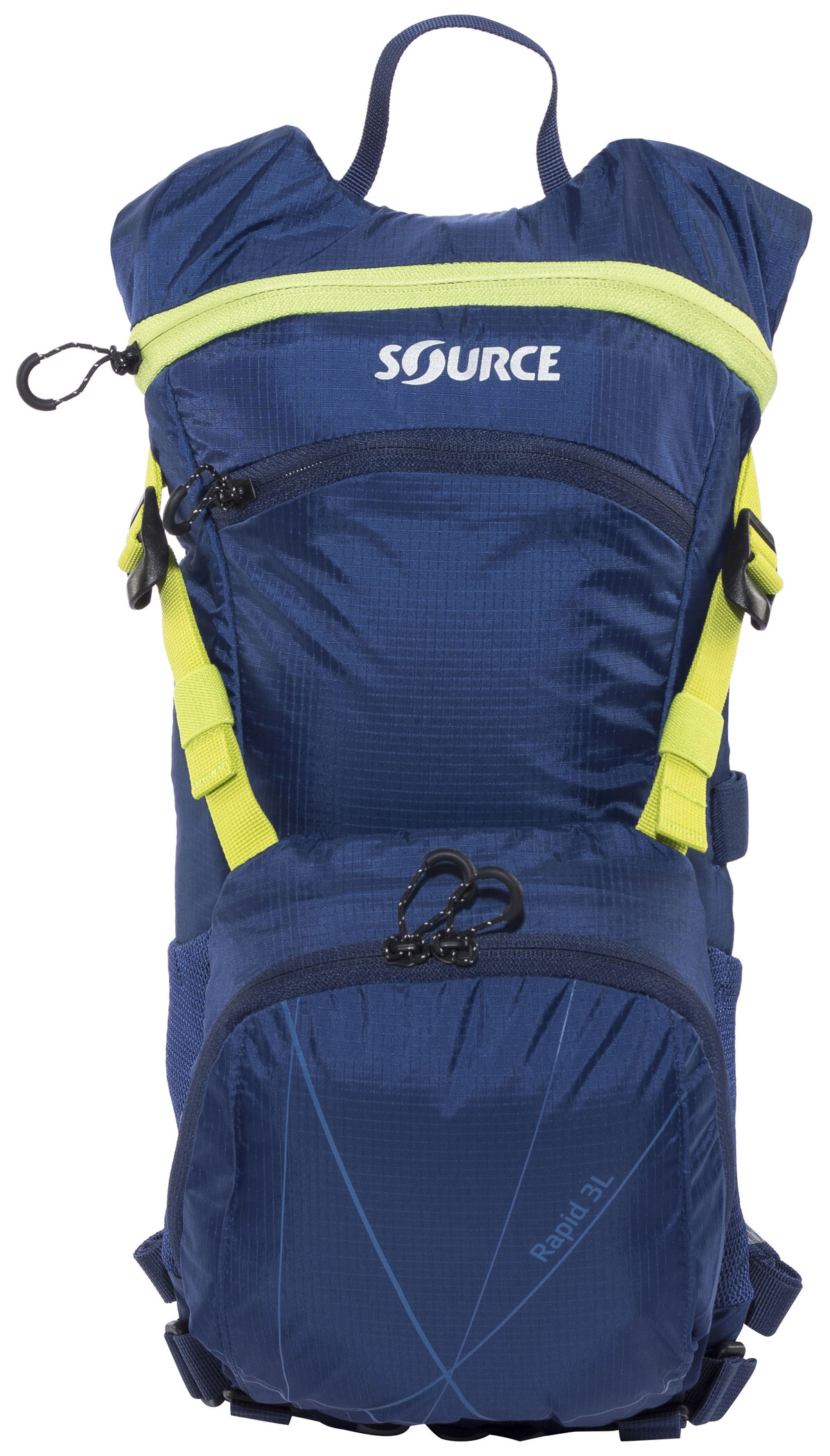 SOURCE Rapid Hydration Backpack 3 L, dark blue/green | Rygsæk og rejsetasker