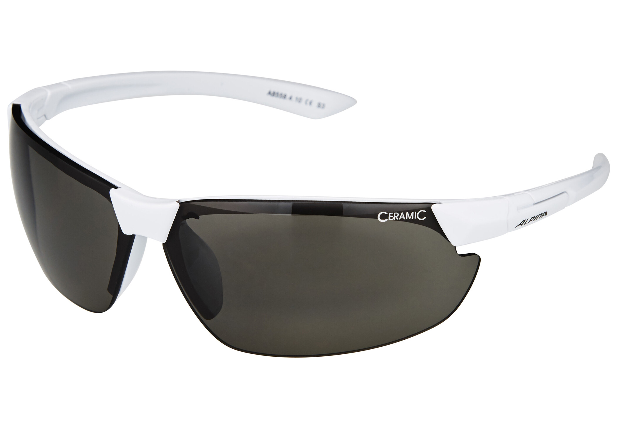 Alpina Draff Cykelbriller, white/black (2019) | Glasses
