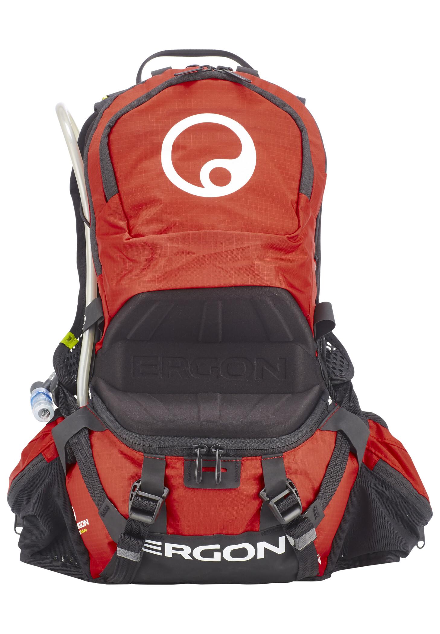 Ergon BE2 Enduro Rygsæk 6,5 L, black/red | Rygsæk og rejsetasker