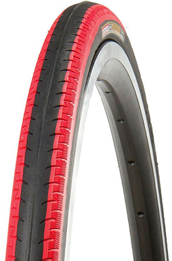 """Kenda Kontender K-196 Dæk 28"""" trådet, black/red (2019)   Tyres"""