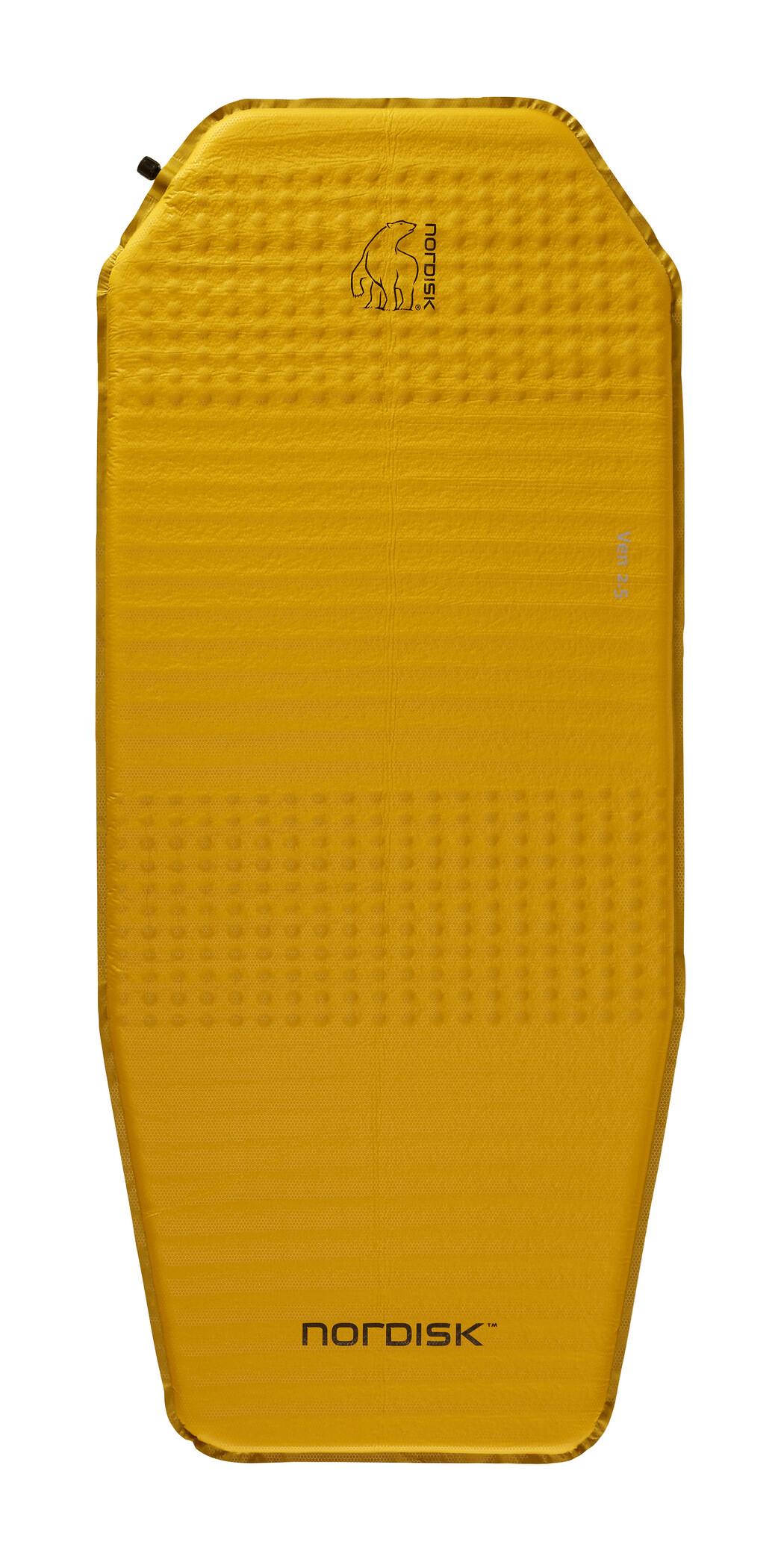 Nordisk Ven 2.5 Liggeunderlag, mustard yellow/black | Transport og opbevaring > Tilbehør