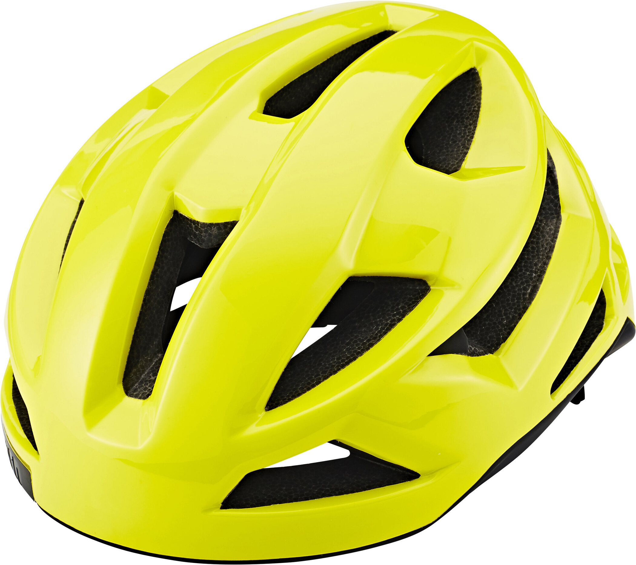 Bern FL-1 Cykelhjelm, neon yellow/glänzend | Helmets