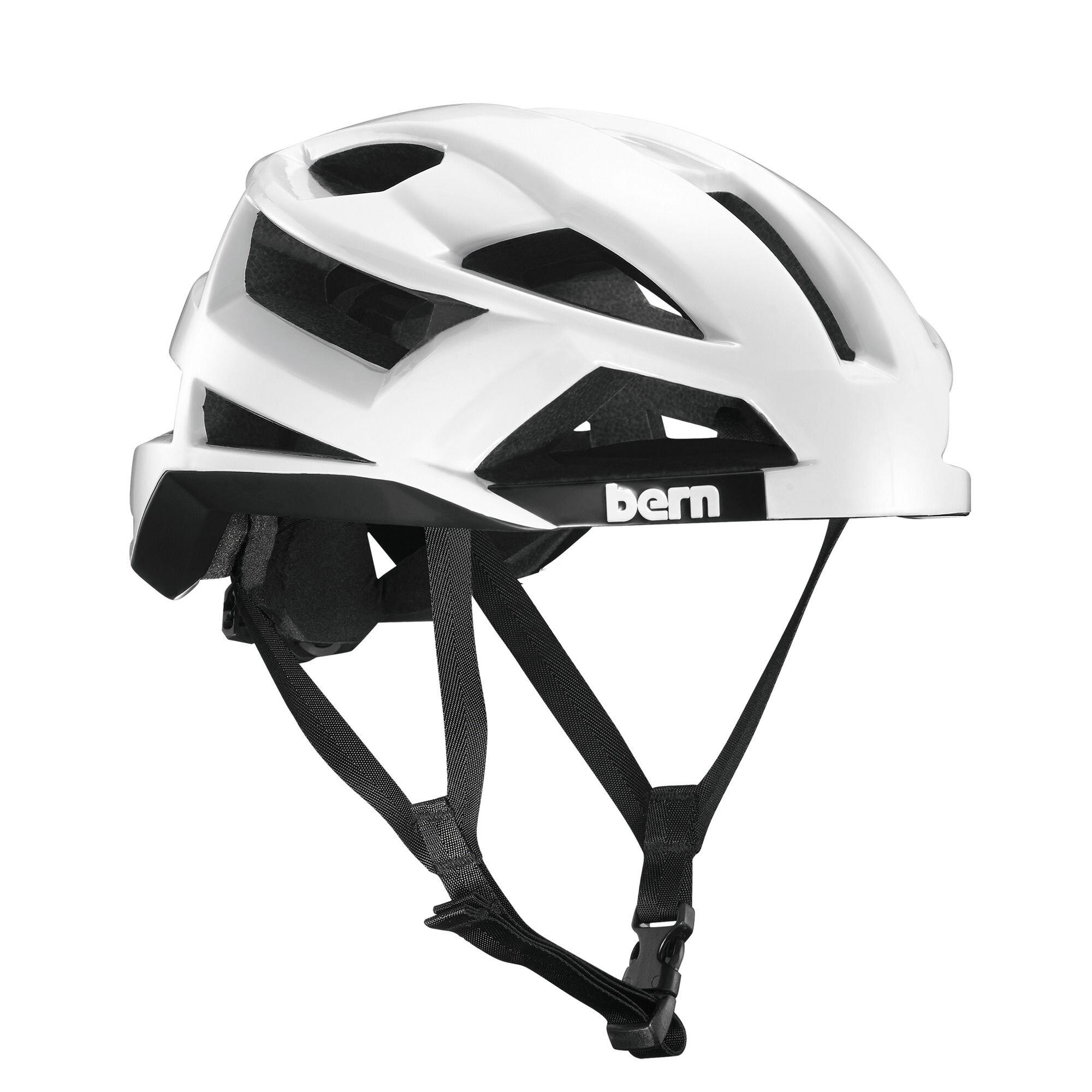 Bern FL-1 Pavé MIPS Cykelhjelm, glossy white (2019) | Helmets