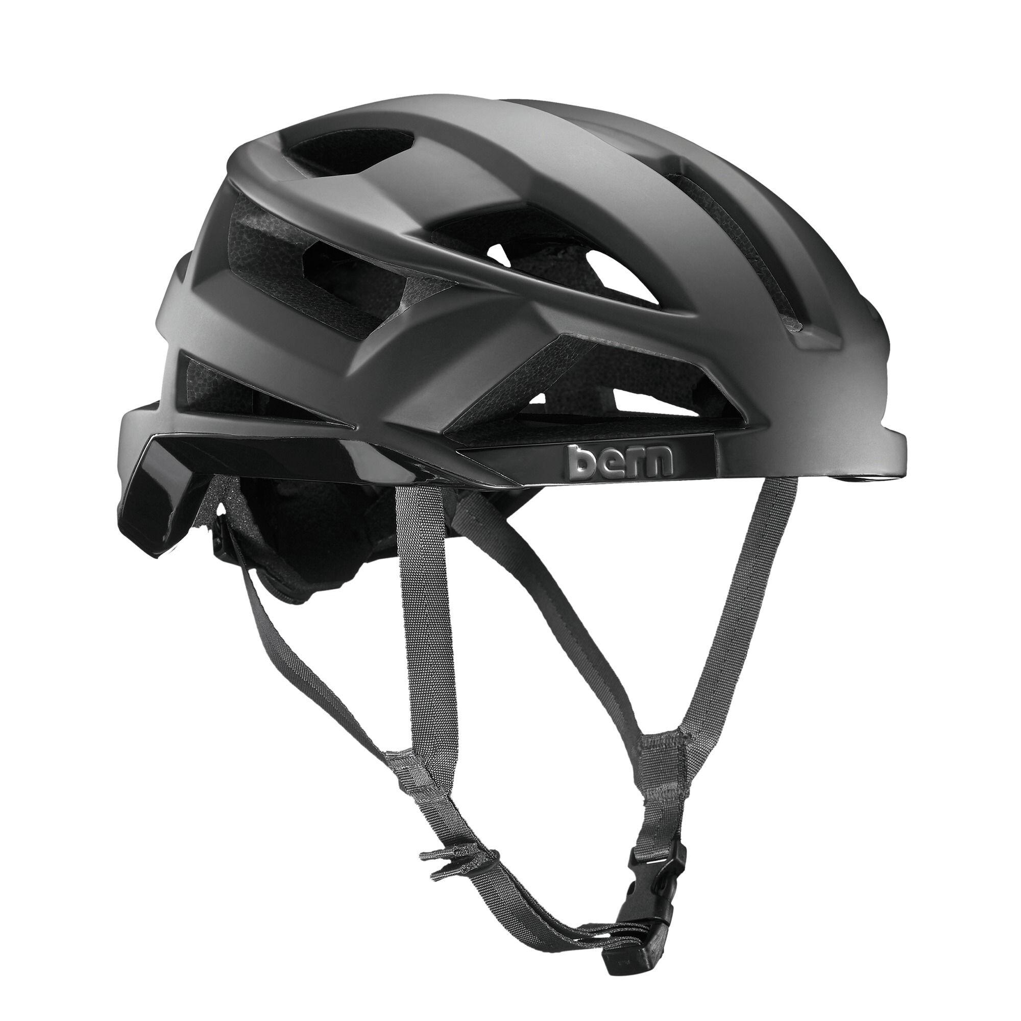Bern FL-1 Cykelhjelm, matte black (2019) | Helmets