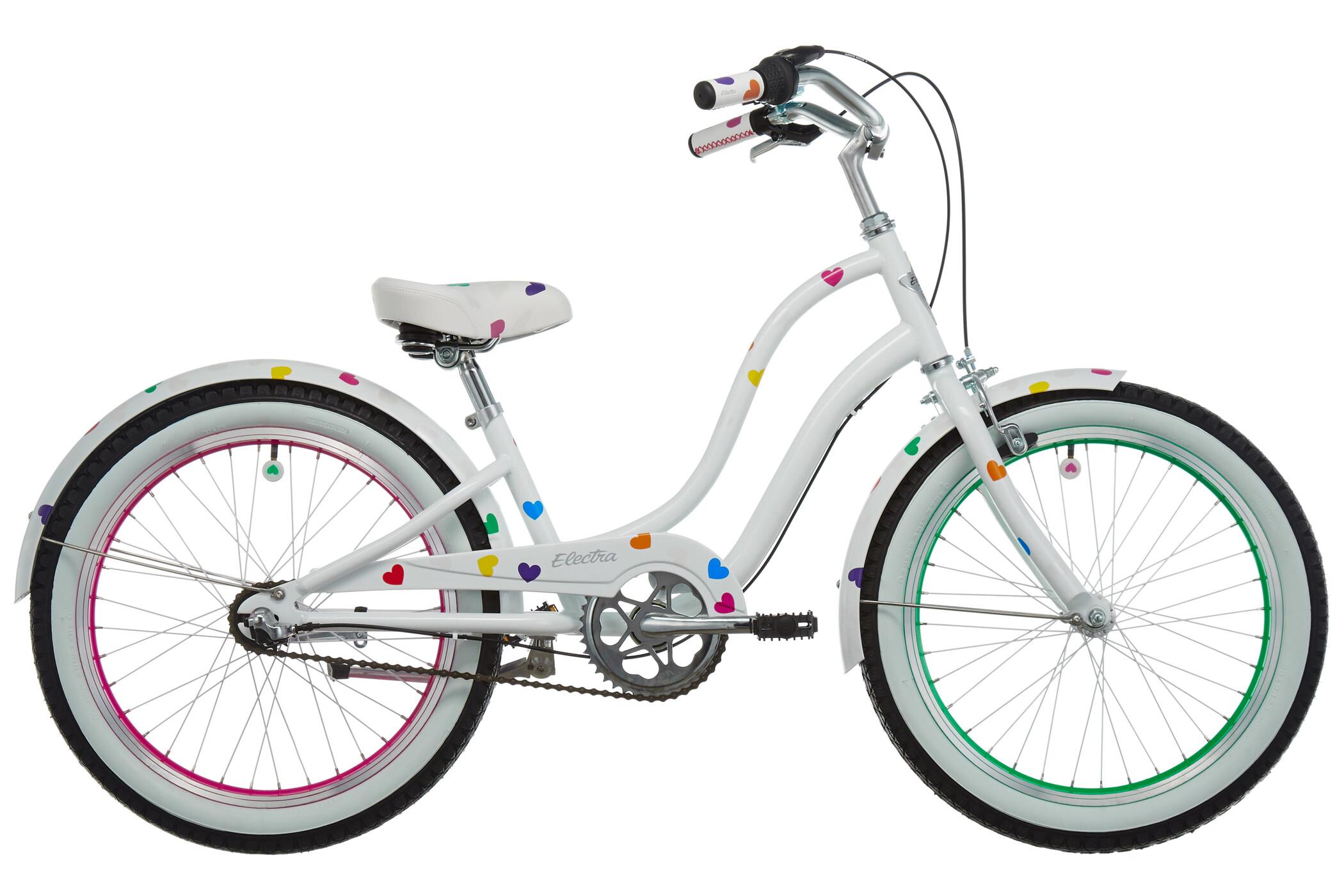 Electra Heartchya 3i Børnecykel hvid (2019) | City