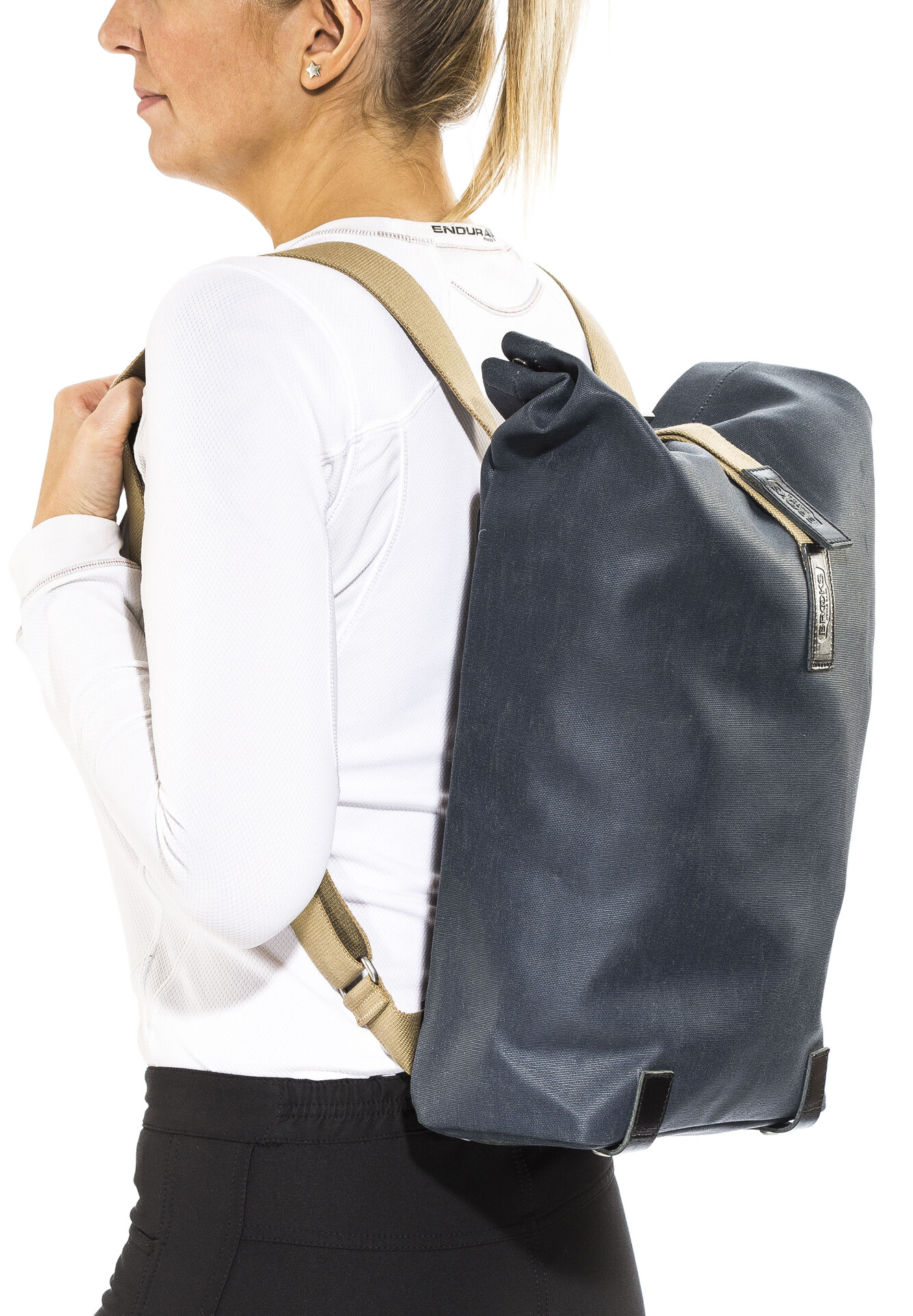 Brooks Pickwick Canvas Backpack Rucksack 26 L Leder Segeltuch Fahrrad Rad Urban