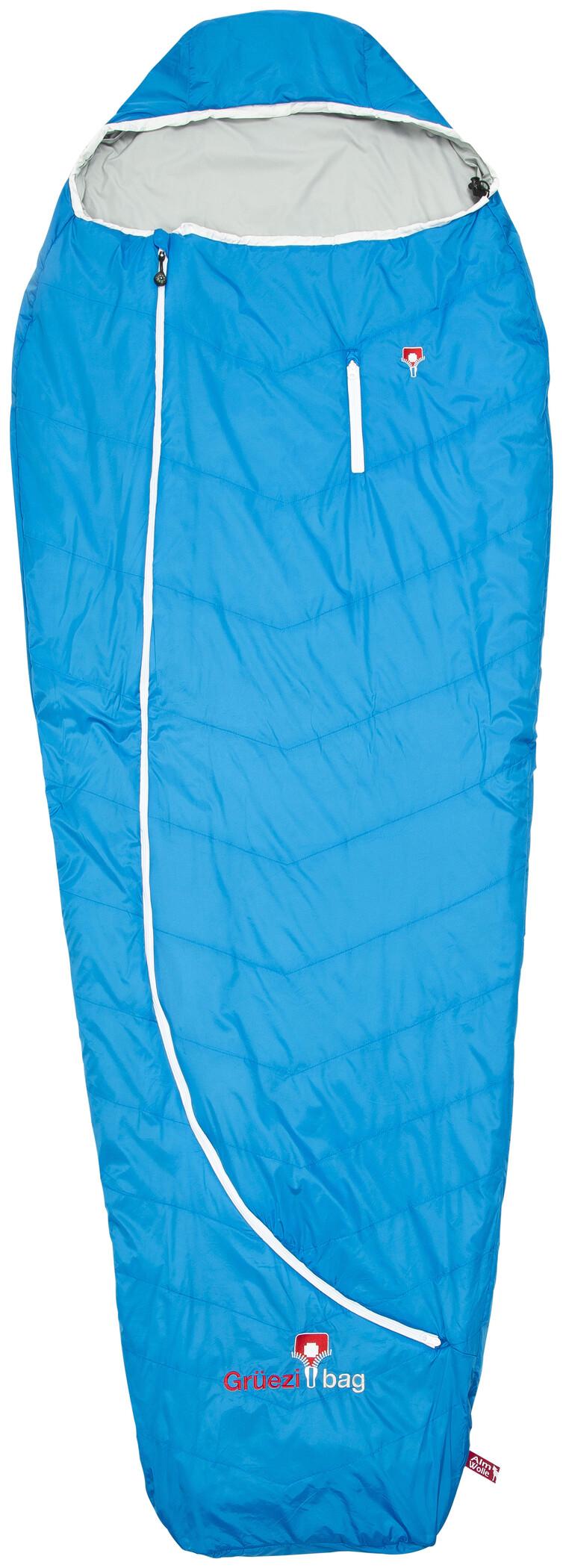 Grüezi-Bag Biopod Wool Plus Sovepose, imperial blue | Transport og opbevaring > Tilbehør