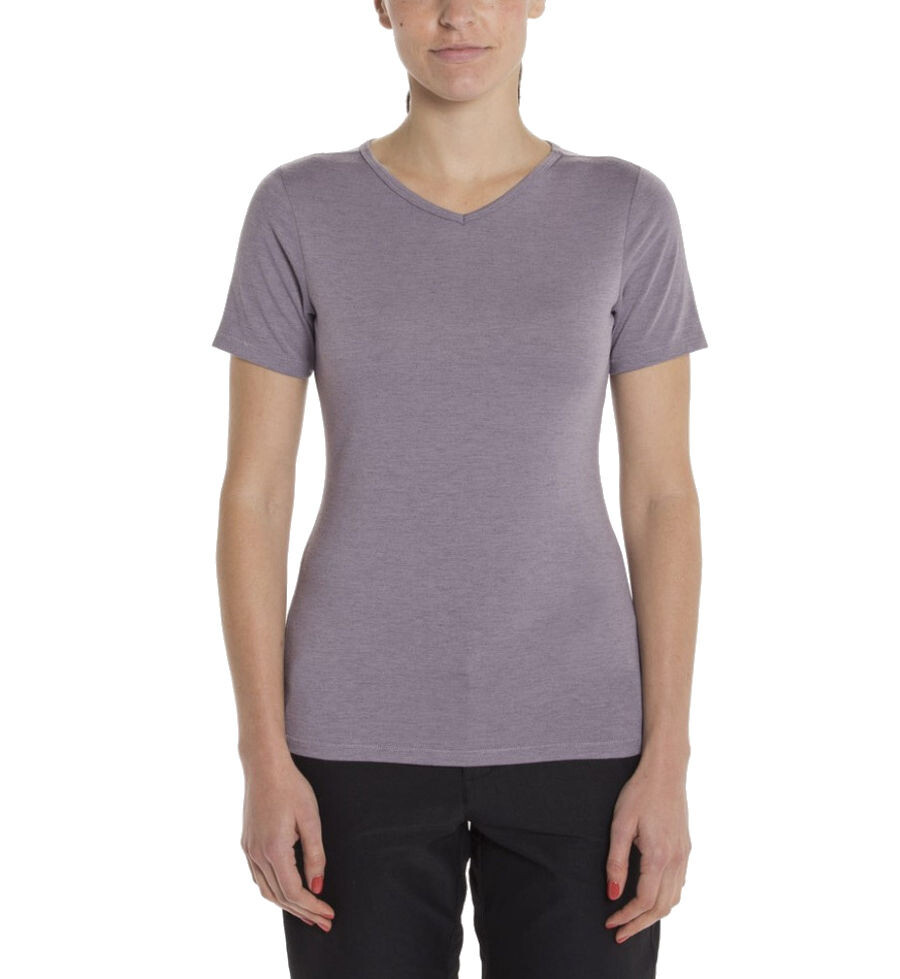 Giro Mobility T-shirt V-Neck Damer, grey ridge heather | Trøjer