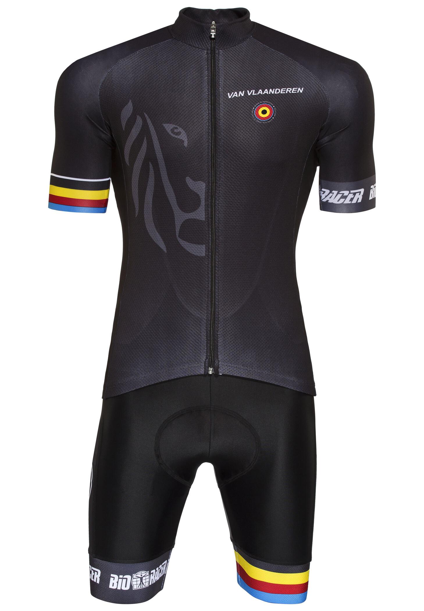 Bioracer Van Vlaanderen Pro Race Cykeltøj Herrer, black (2019) | Jerseys
