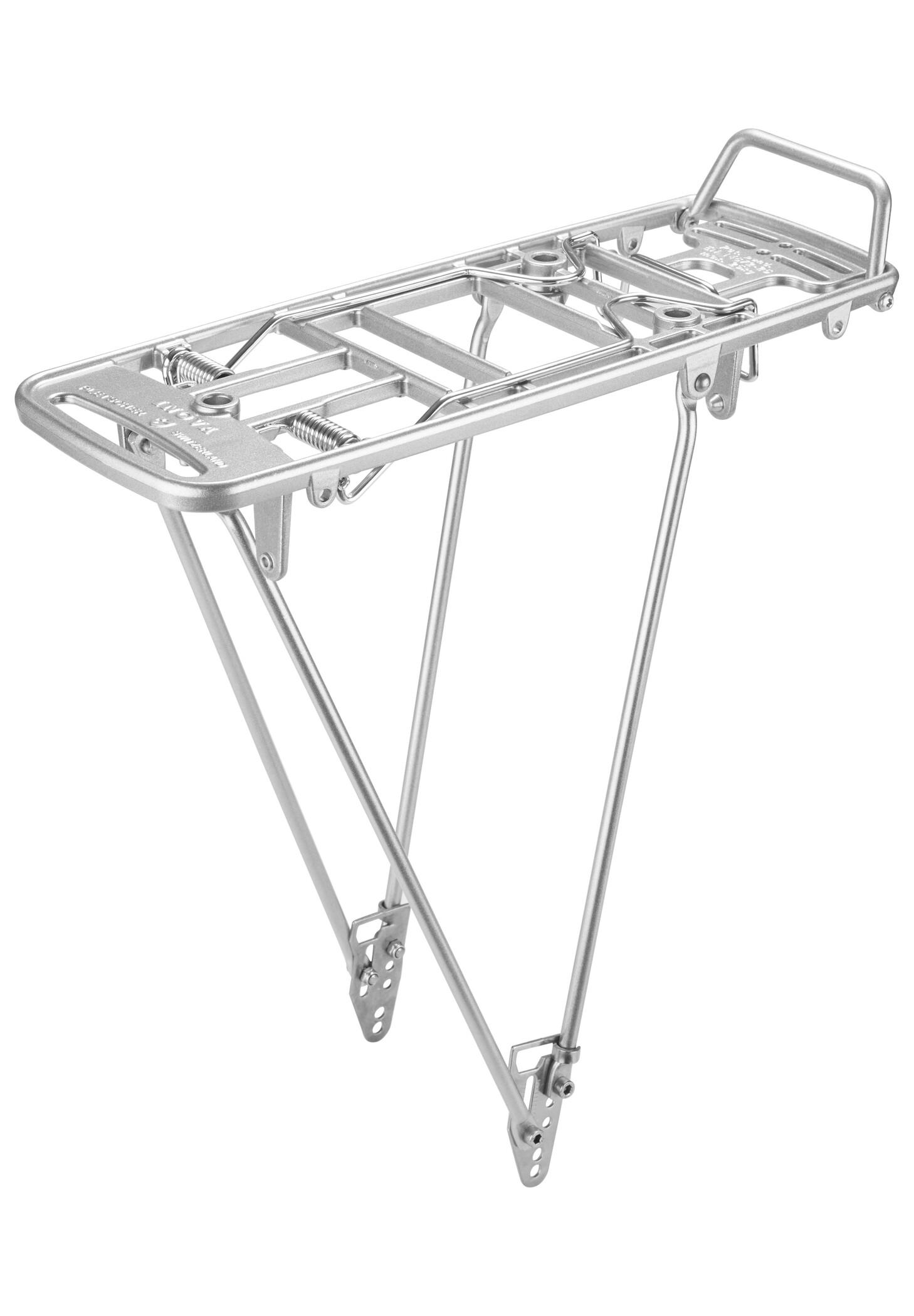 "Pletscher Inova Rack 26-28"" Easyfix, silver (2019) | Baglygter"