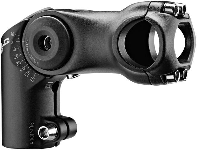 XLC ST-M02 Vorbau winkelverstellbar Ø25,4//108mm schwarz Länge 108mm 2019