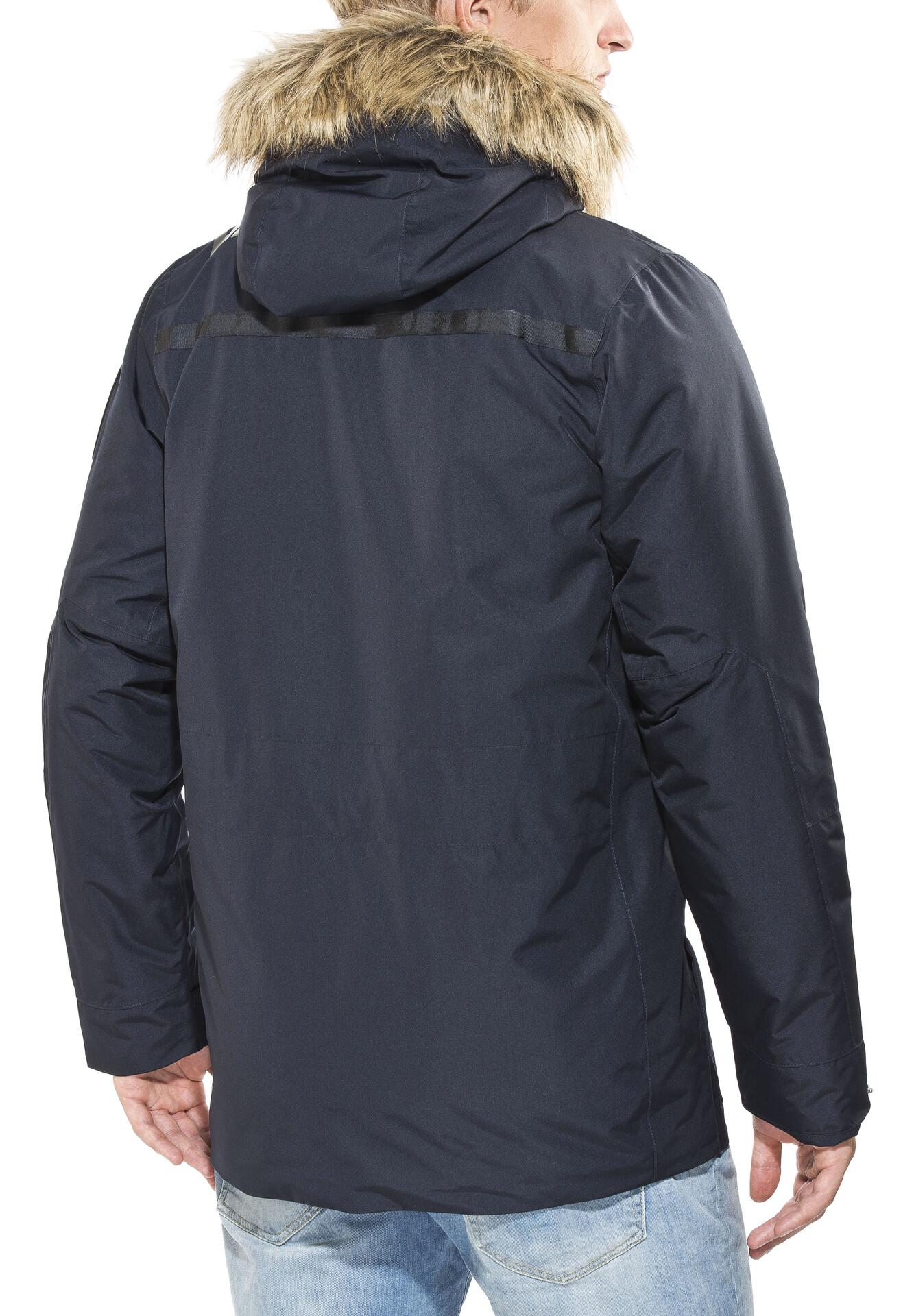 Inverno Giacca Uomo Giacca Outdoor Parka giacca uomo cappuccio pelliccia collo h-131 S-XXL