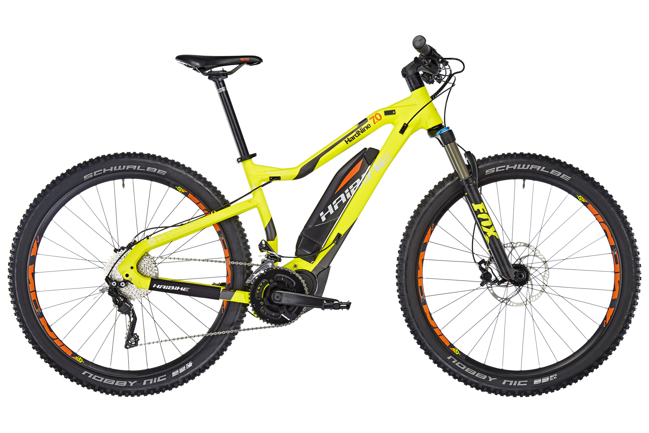 HAIBIKE Sduro HardNine 7.0 29 inches, lime/anthr./orange matt | MTB