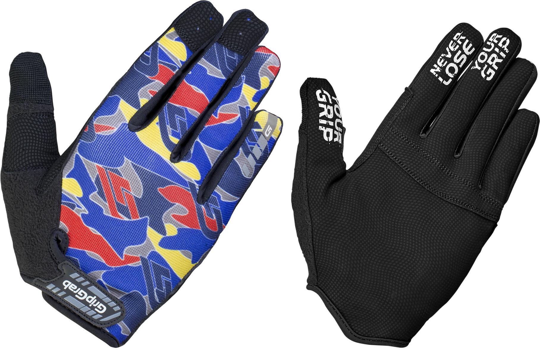 GripGrab Rebel Handsker, blue camo (2019)   Gloves