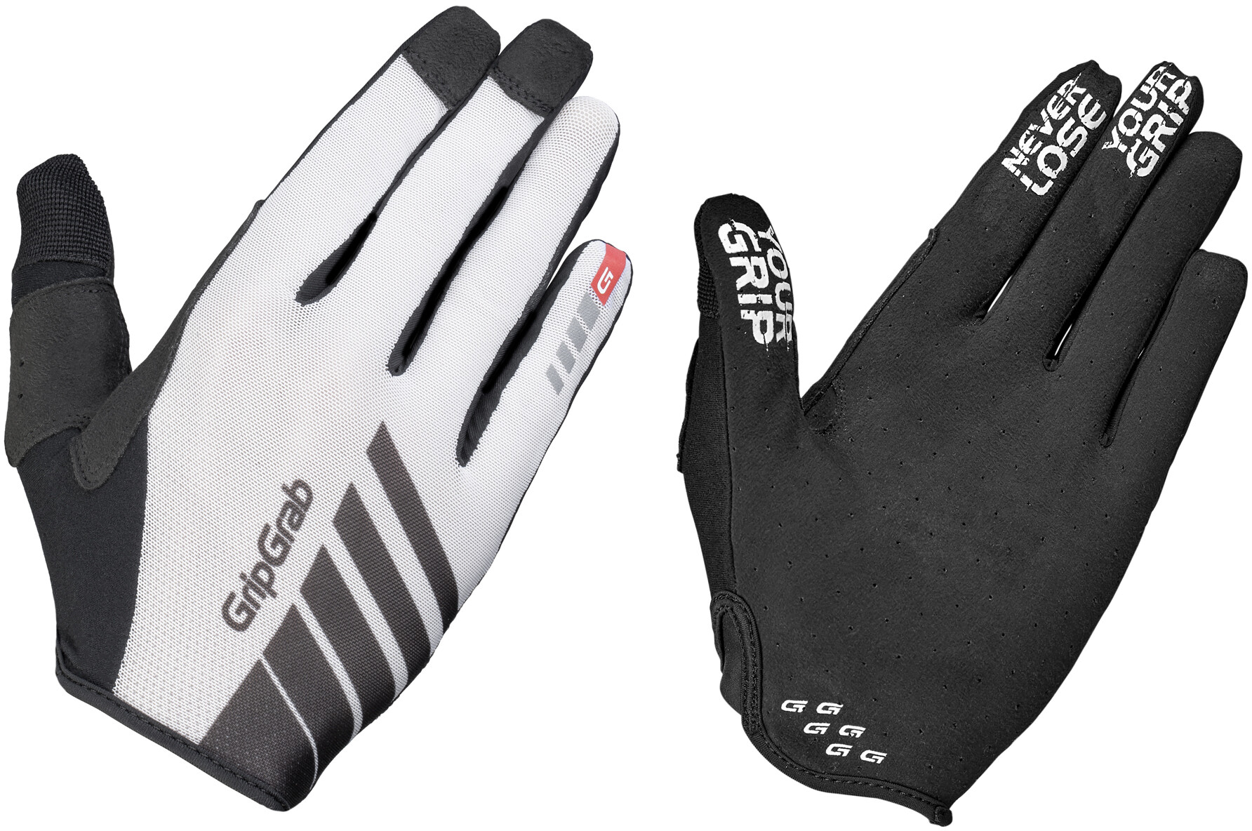 GripGrab Racing Cykelhandsker, white (2019)   Gloves
