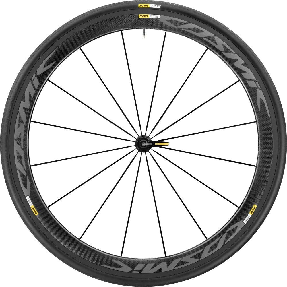 Mavic Cosmic Pro Carbon Exalith 17 Front Wheel 25, black (2019) | Front wheel