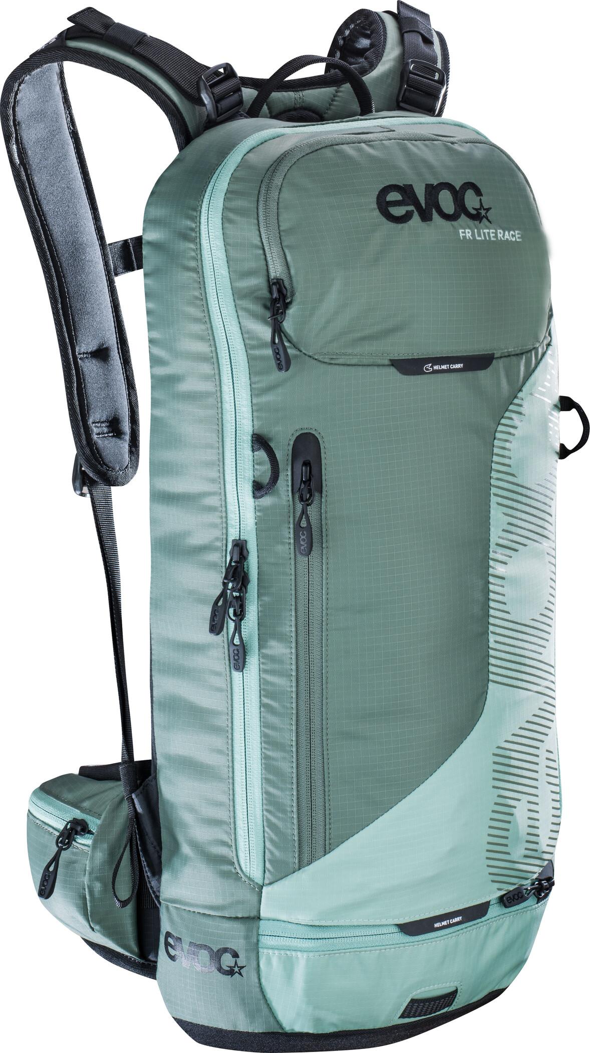 EVOC FR Lite Race Backpack 10 L, olive-light petrol | Travel bags