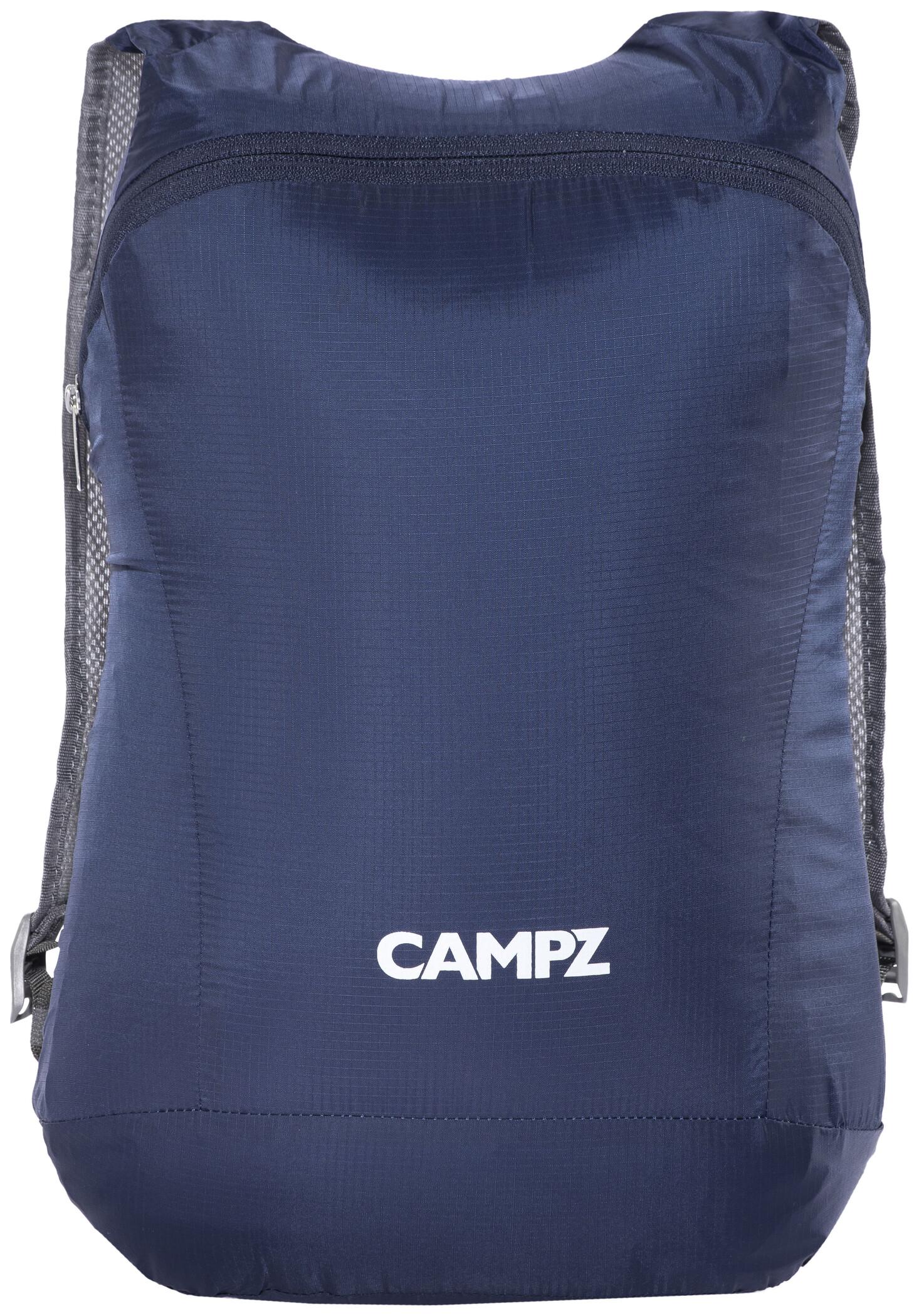 CAMPZ Foldbar rygsæk Ultralight 12l, blue | Rygsæk og rejsetasker
