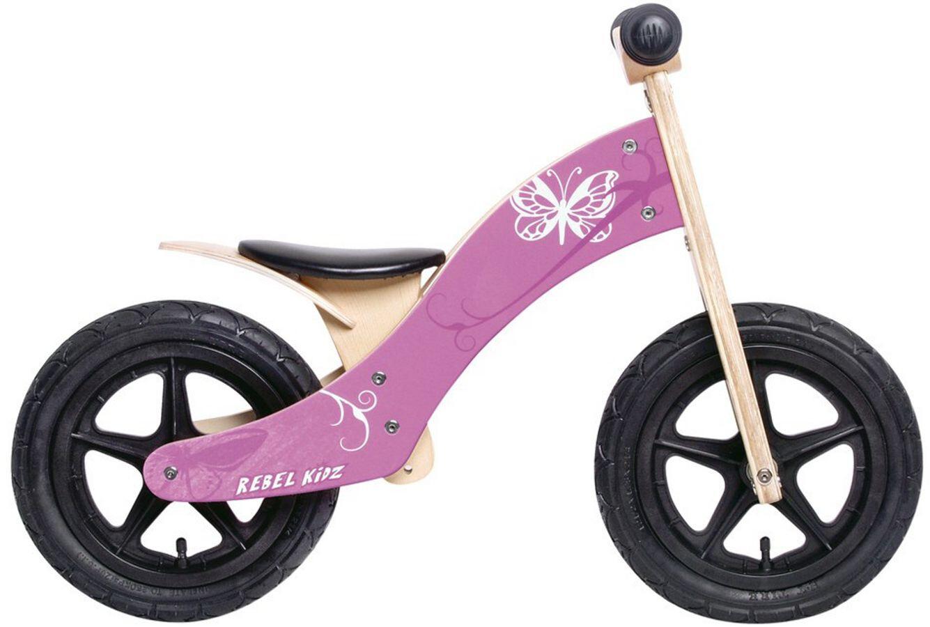 Rebel Kidz Wood Air Løbecykel 12