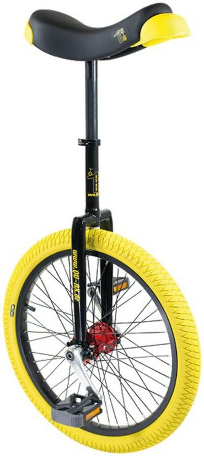 QU-AX Profi ISIS Unicycle, yellow (2019) | City